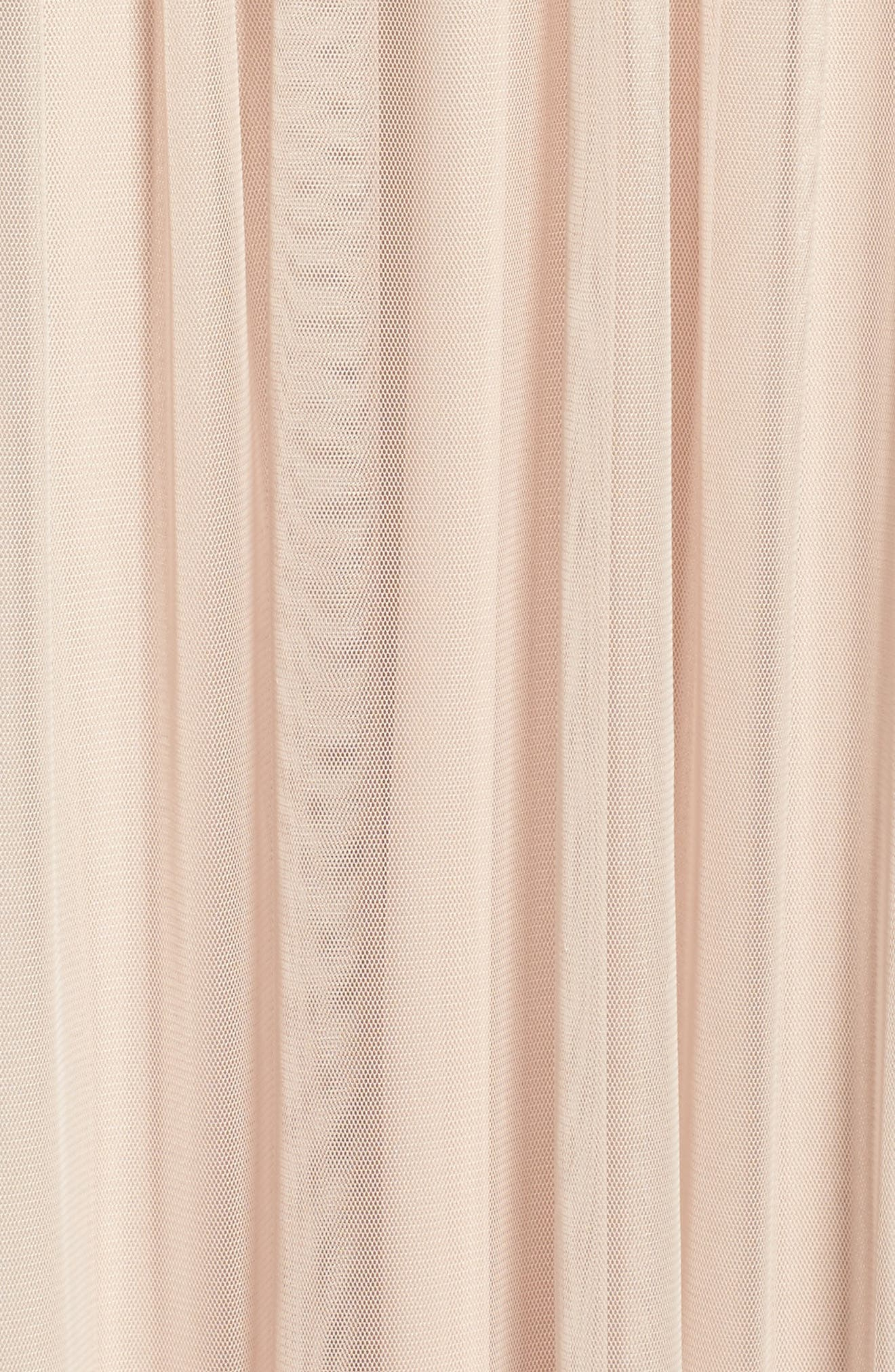Alternate Image 5  - Adrianna Papell Beaded Mesh Gown (Regular & Petite)