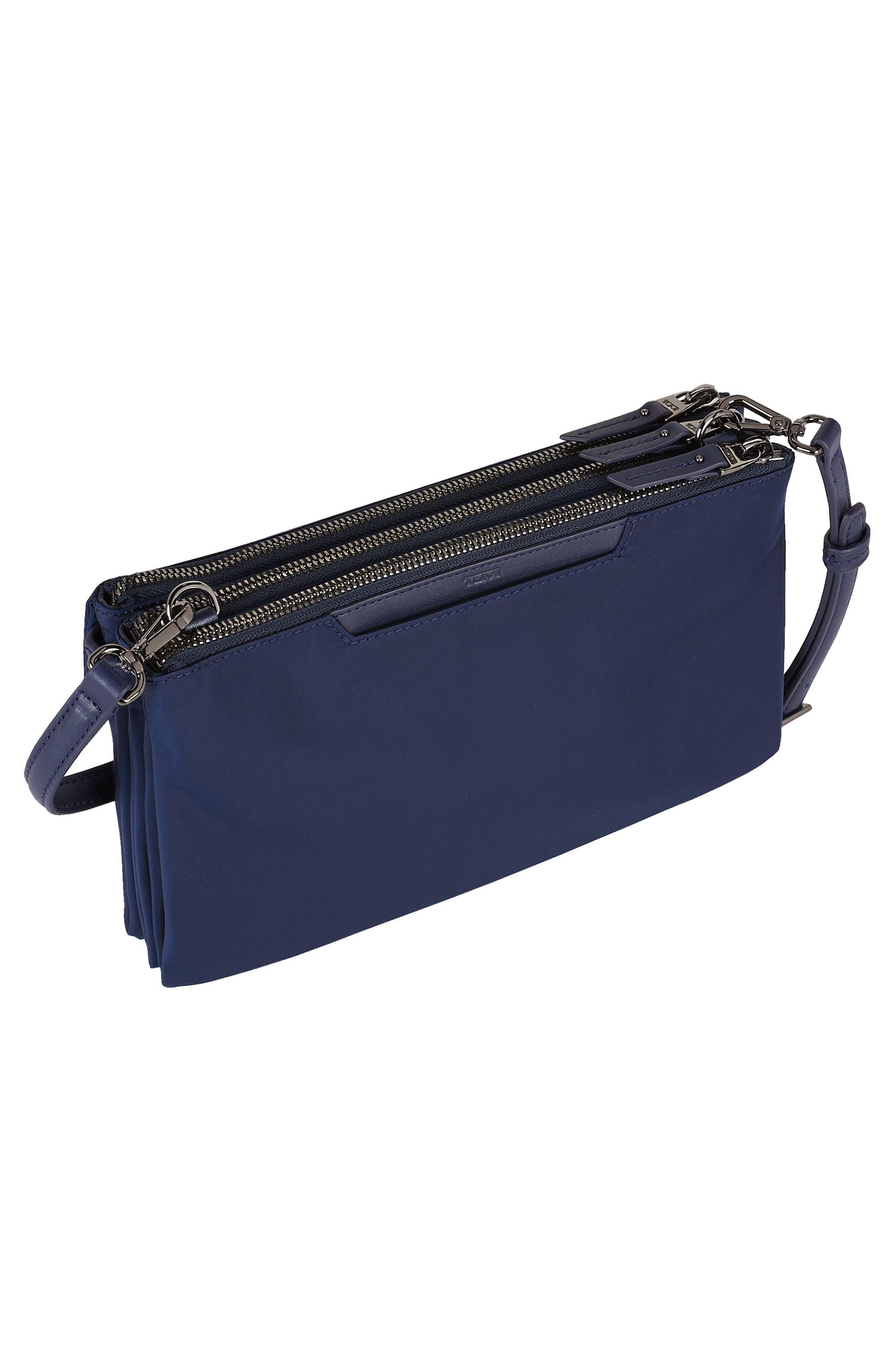 Voyageur - Tristen Nylon Crossbody Bag,                             Alternate thumbnail 3, color,                             Marine