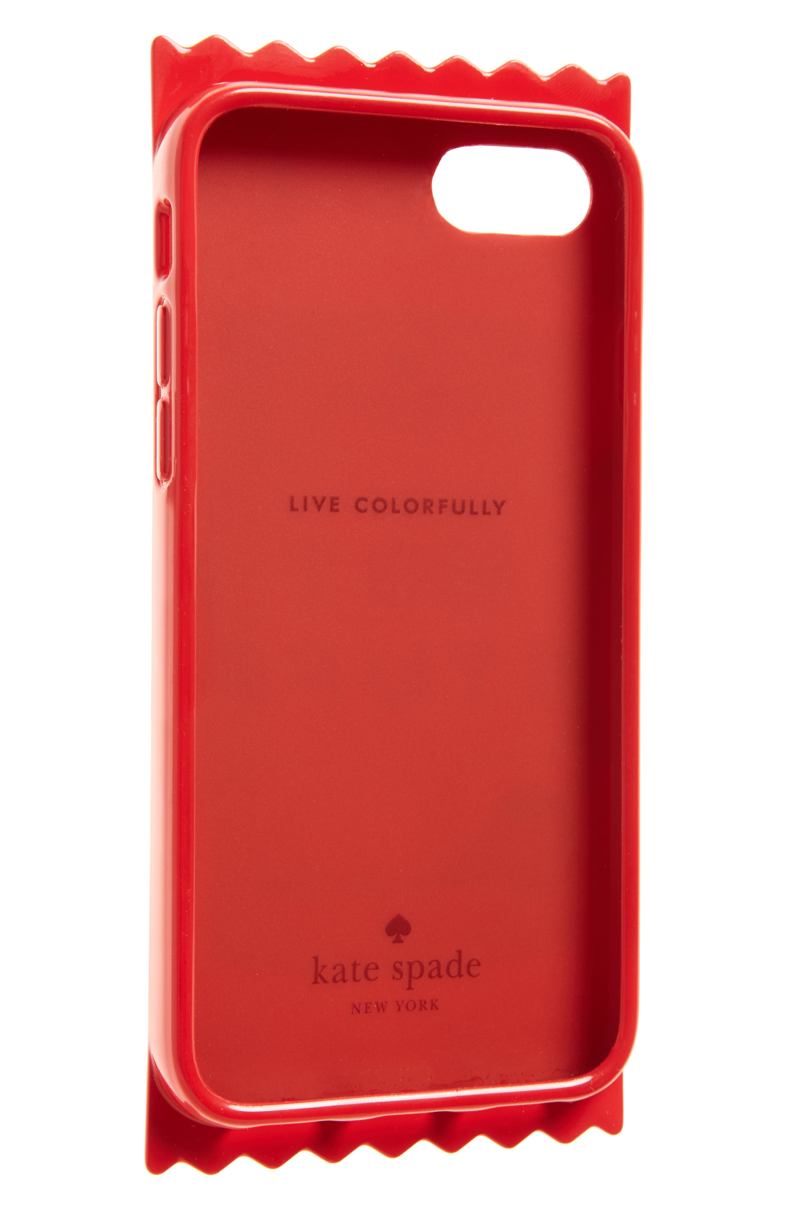 hot stuff iPhone 7/8 case,                             Alternate thumbnail 2, color,                             Red Multi