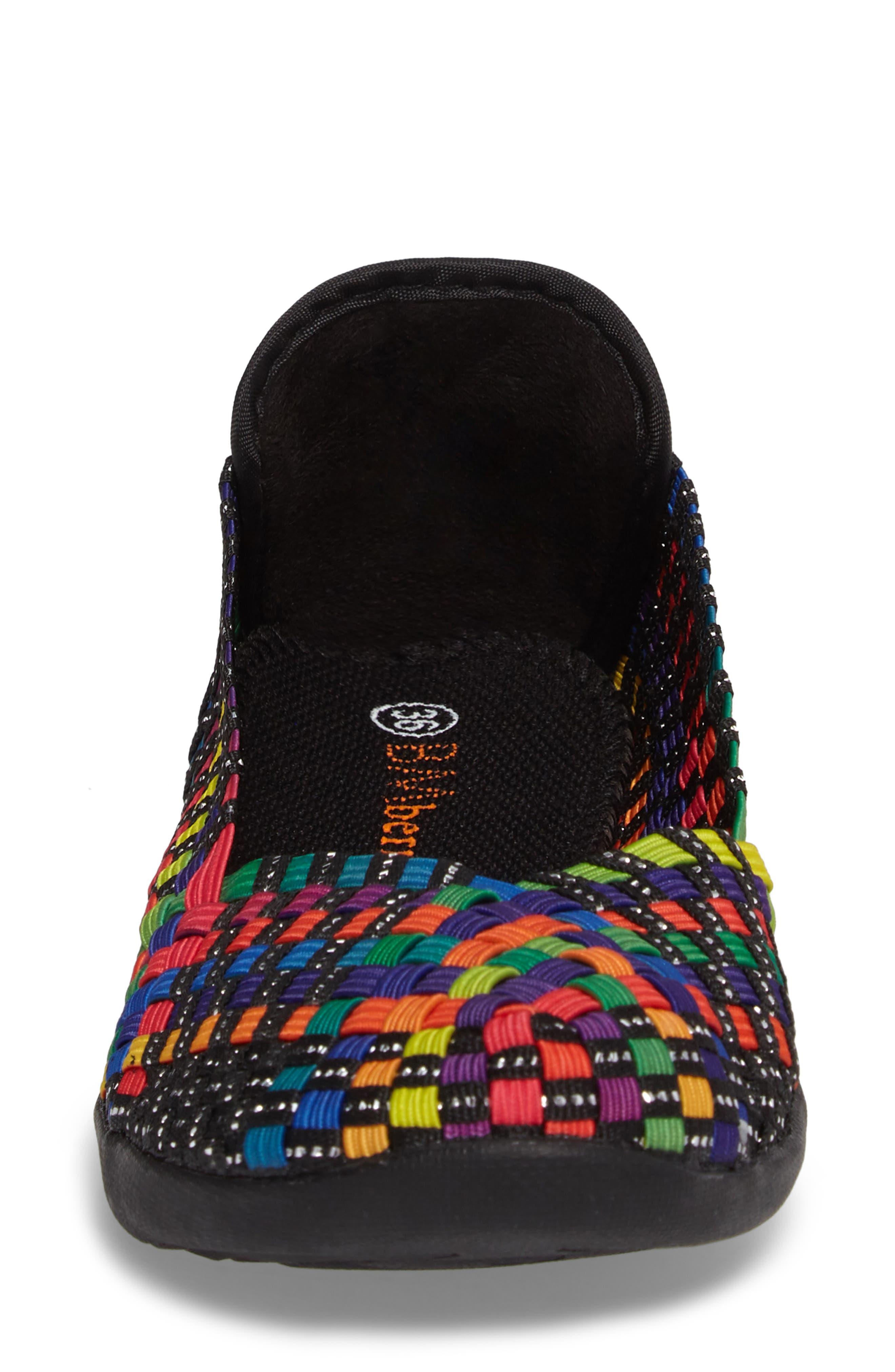 Catwalk Sneaker,                             Alternate thumbnail 4, color,                             Black Multi