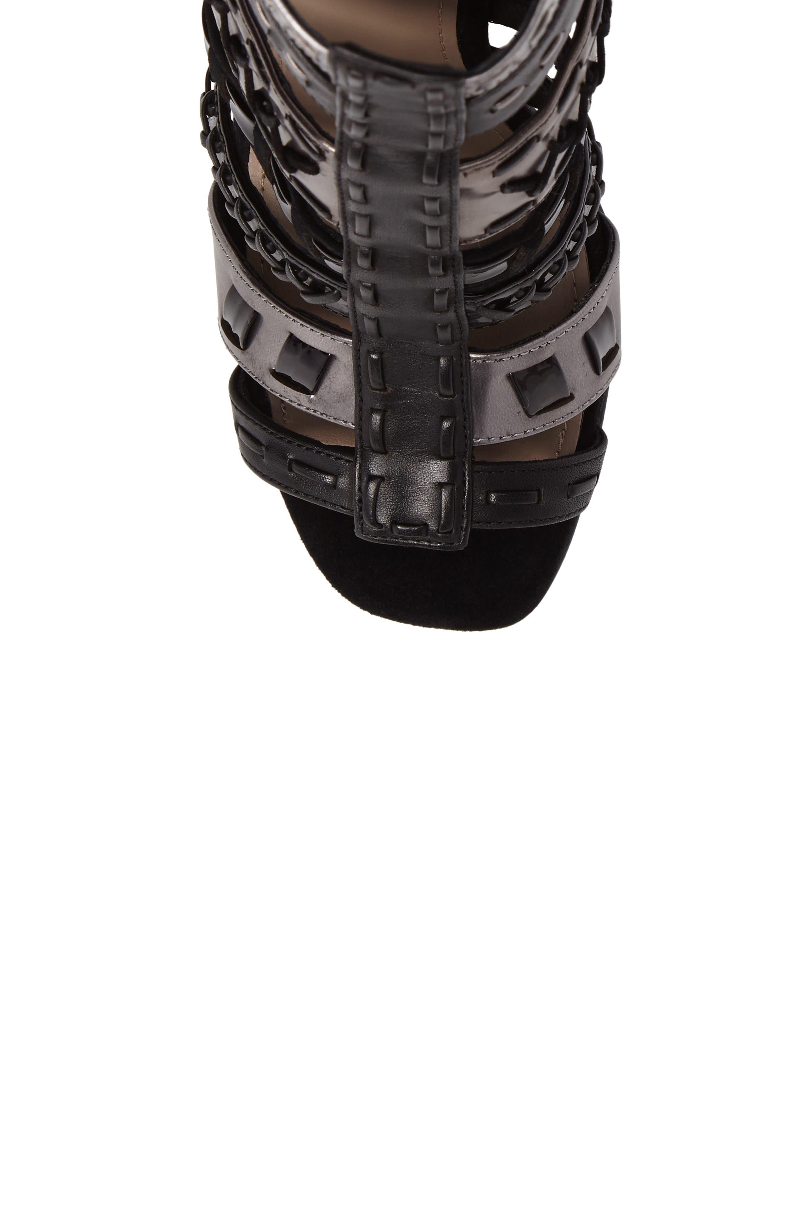 Alternate Image 4  - Donald J Pliner Bindy Column Heel Cage Sandal (Women)