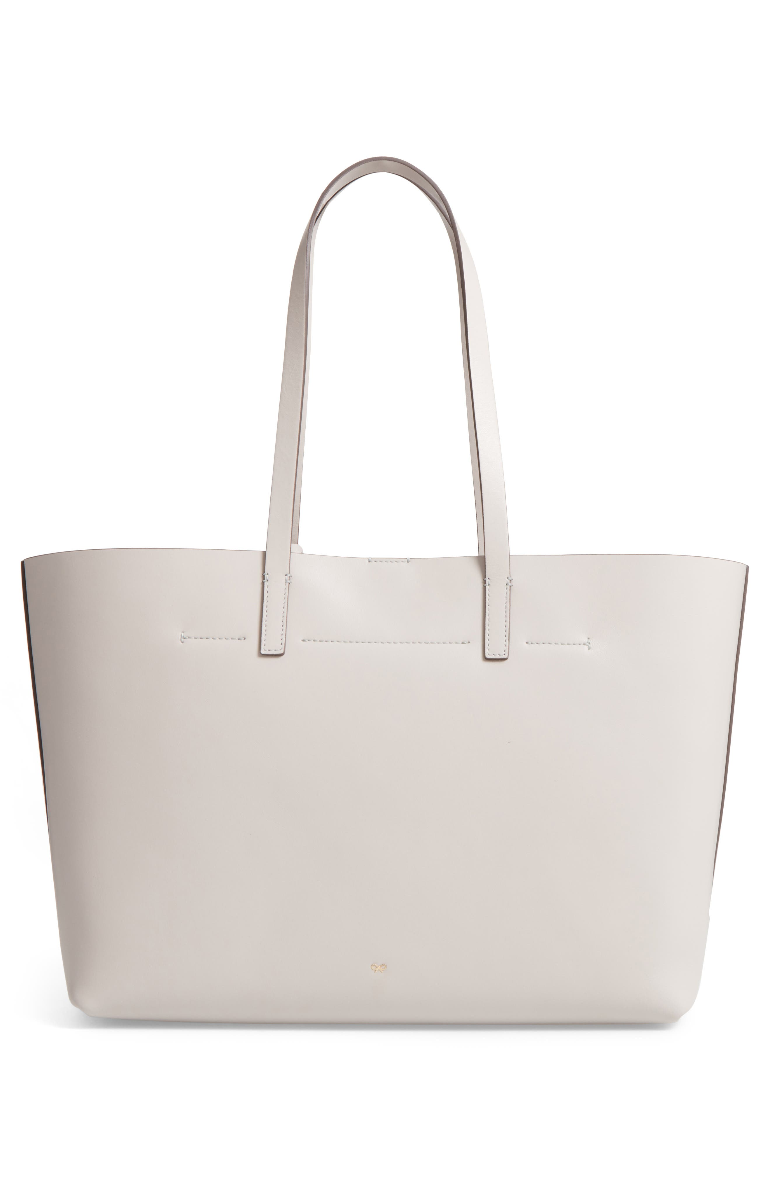 Ebury - Eyes Leather Tote,                             Alternate thumbnail 3, color,                             Steam