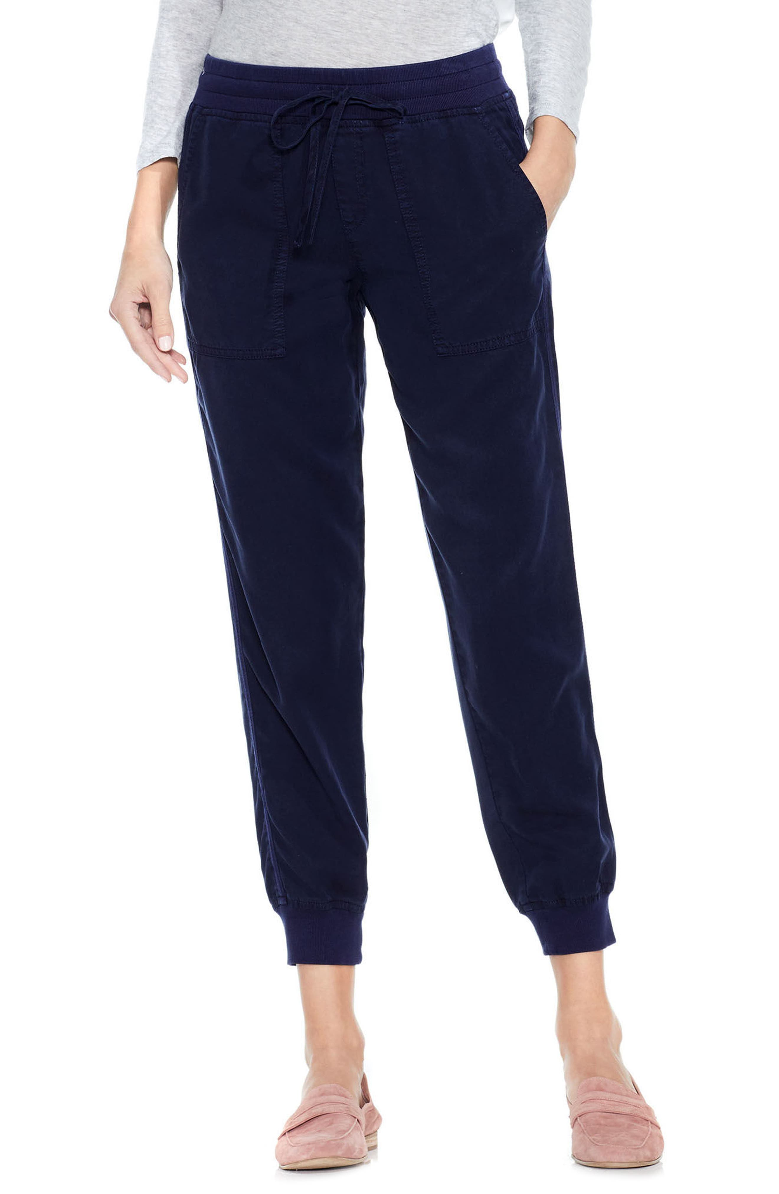 Two by Vince Camuto Twill Jogger Pants