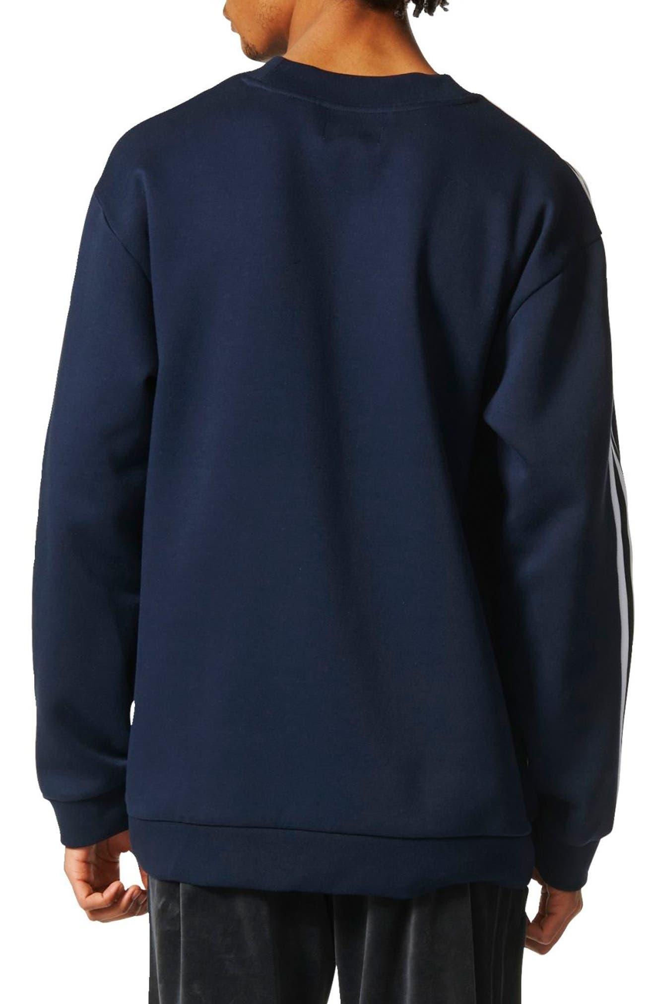 Alternate Image 2  - adidas Originals Linear Graphic Sweatshirt