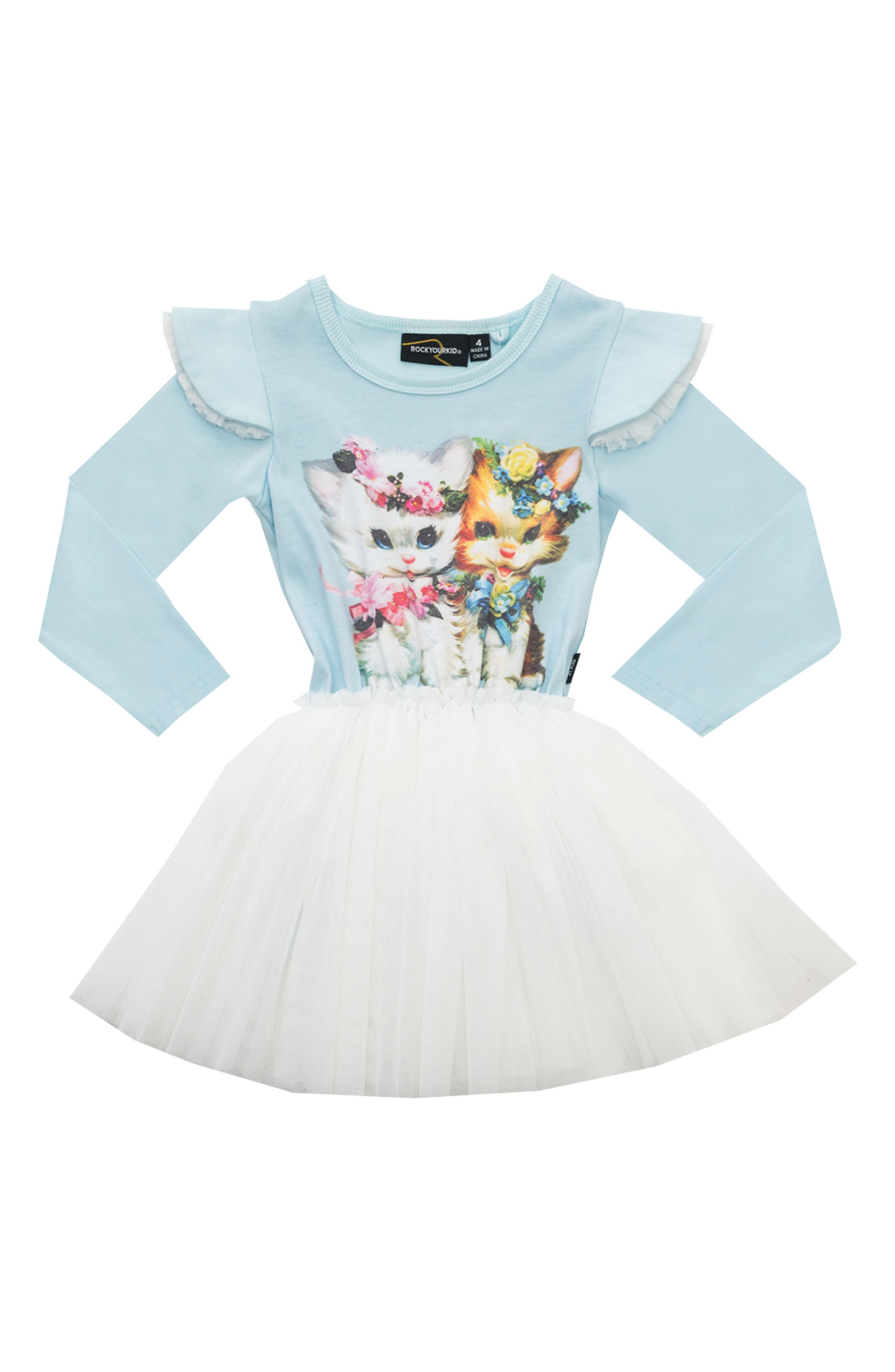 Alternate Image 1 Selected - Rock Your Kid Lulu & Lola Circus Dress (Toddler Girls & Little Girls)
