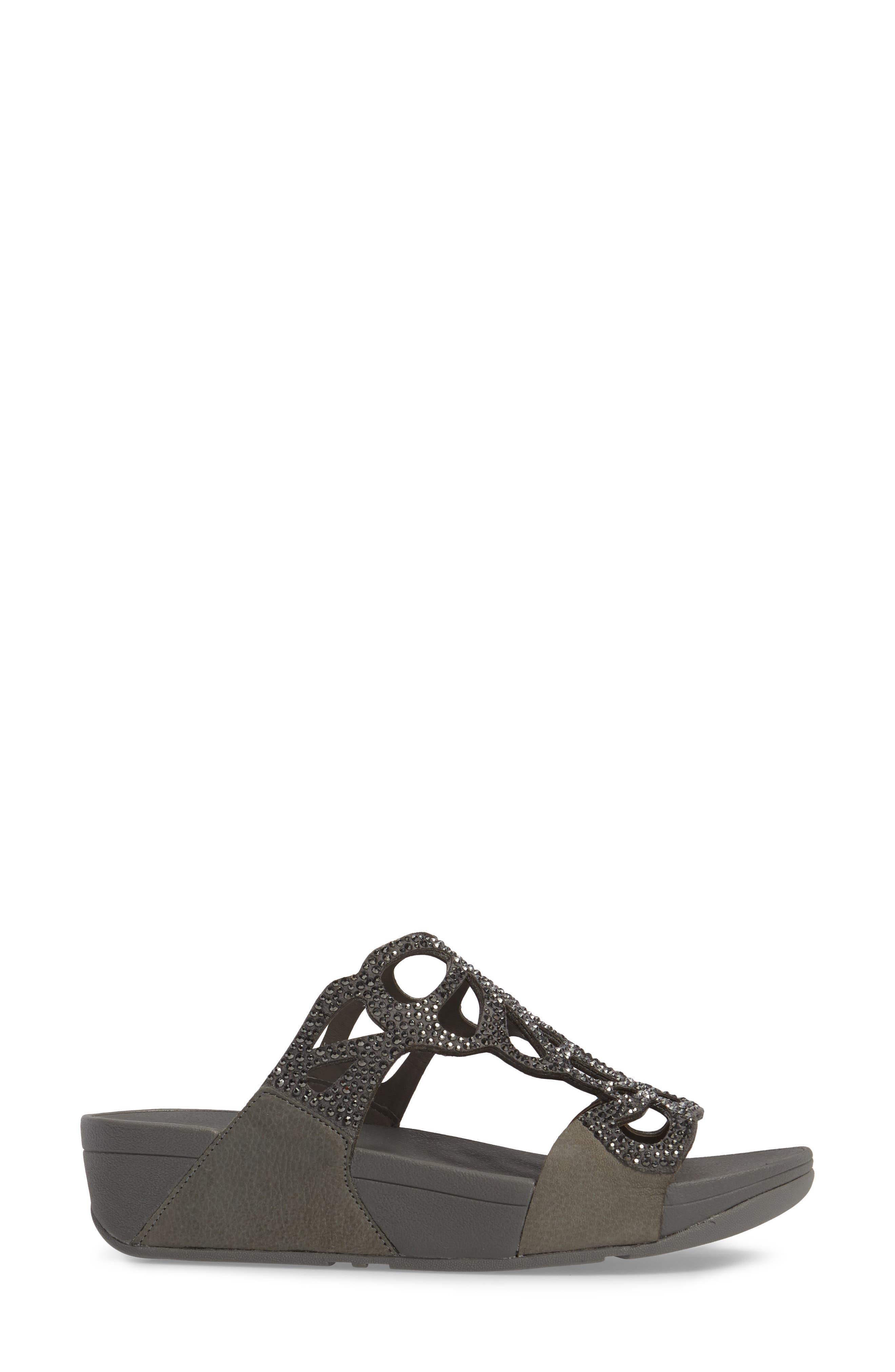 Alternate Image 3  - FitFlop Bumble Wedge Slide Sandal