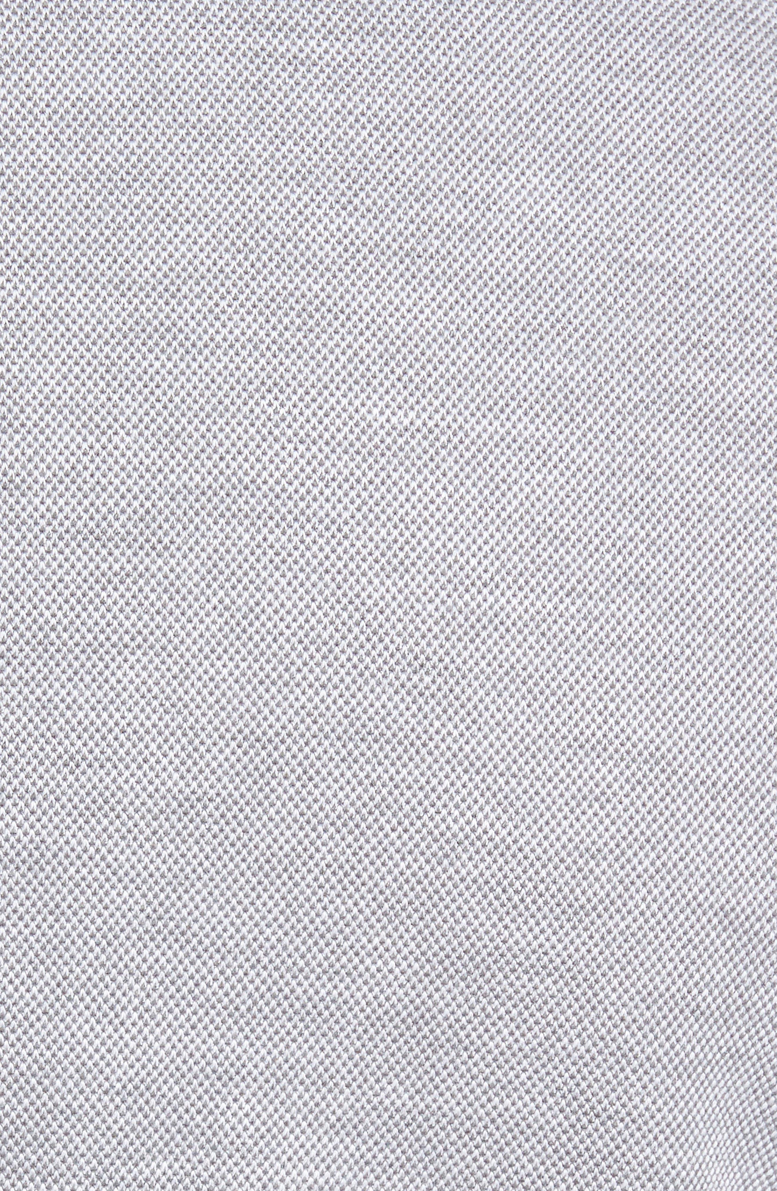 Trim Fit Jersey Blazer,                             Alternate thumbnail 7, color,                             Grey