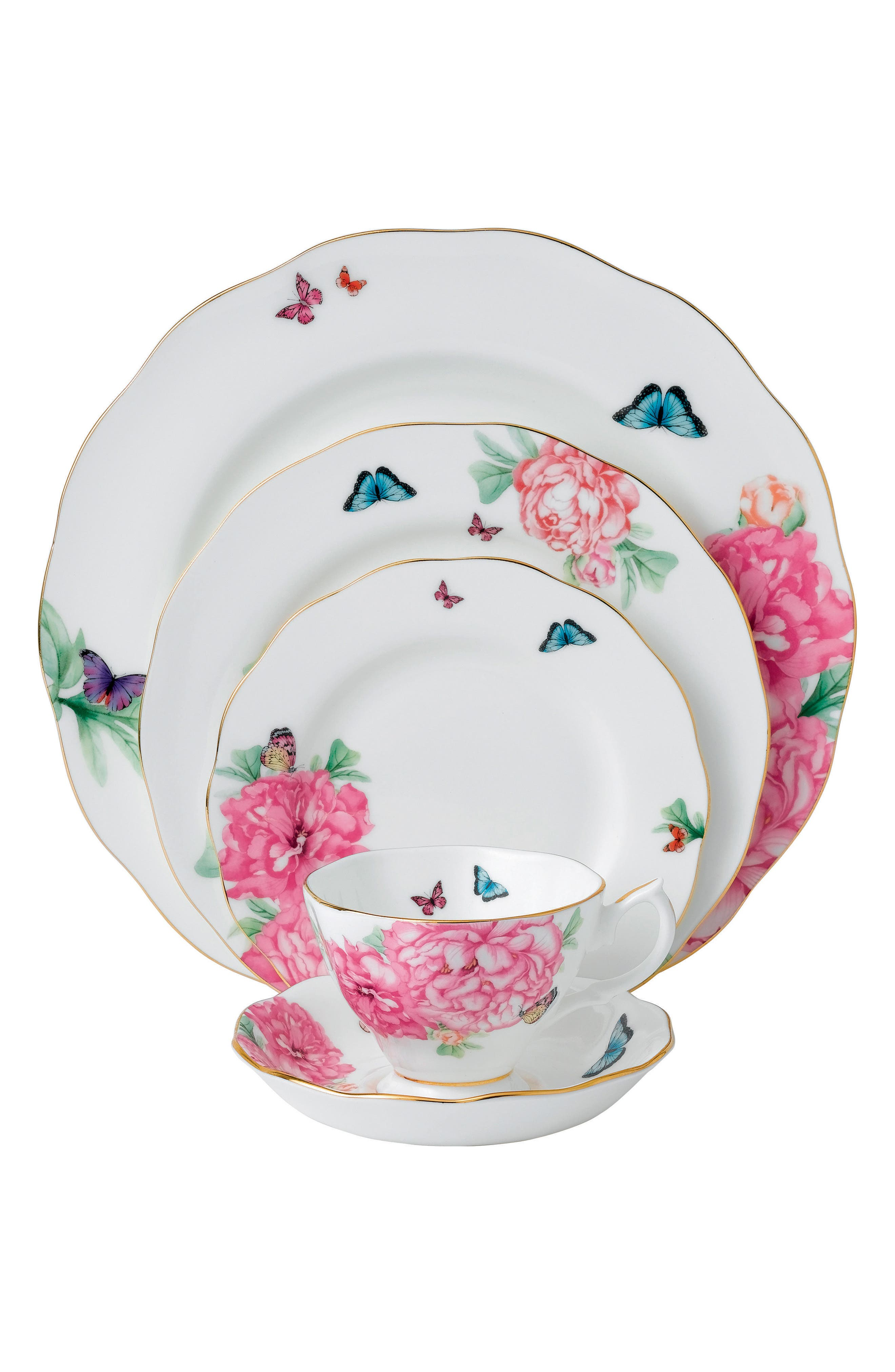 Alternate Image 1 Selected - Miranda Kerr for Royal Albert Friendship 5-Piece Place Setting