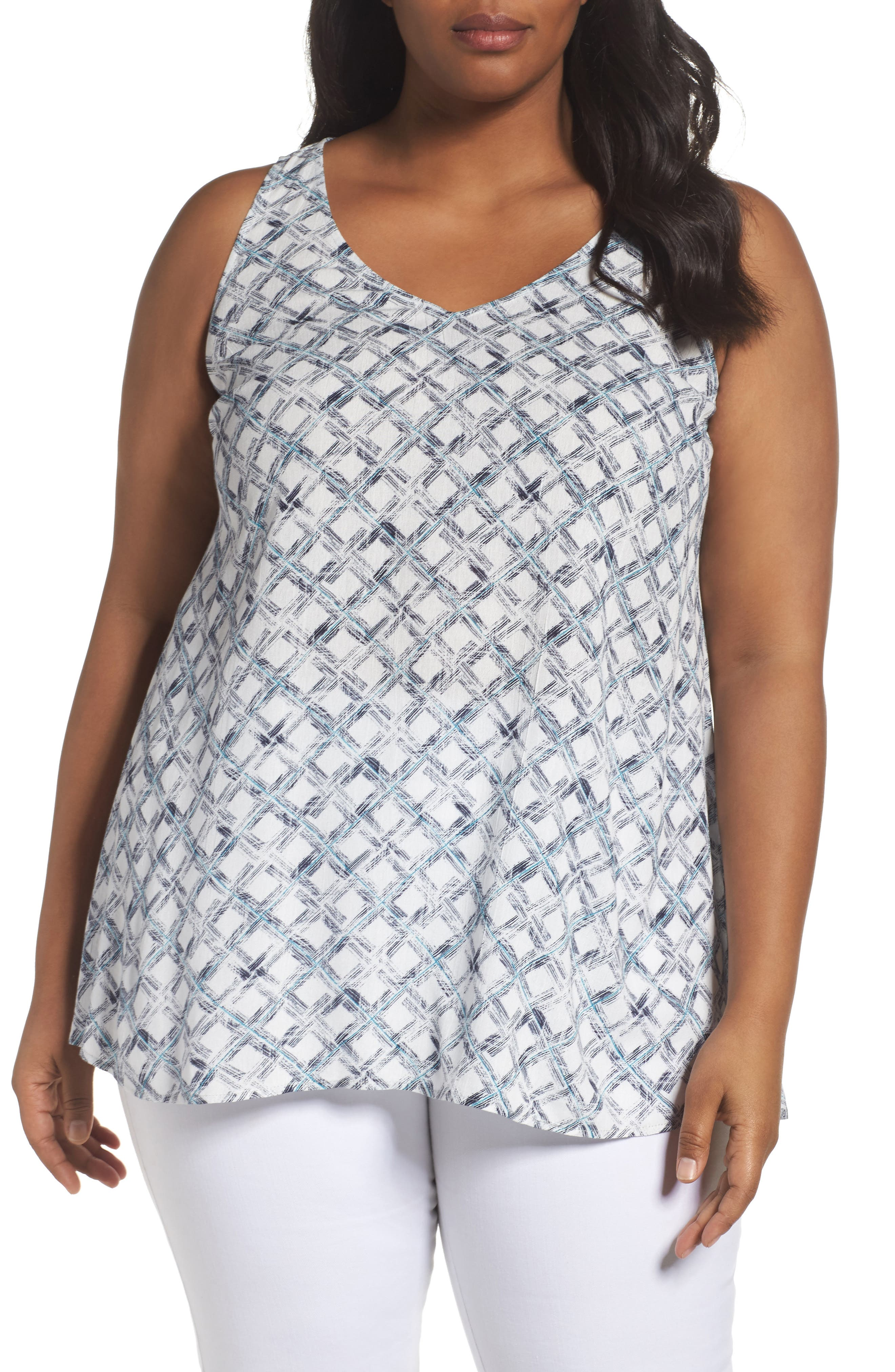 SEJOUR High/Low Tunic Tank