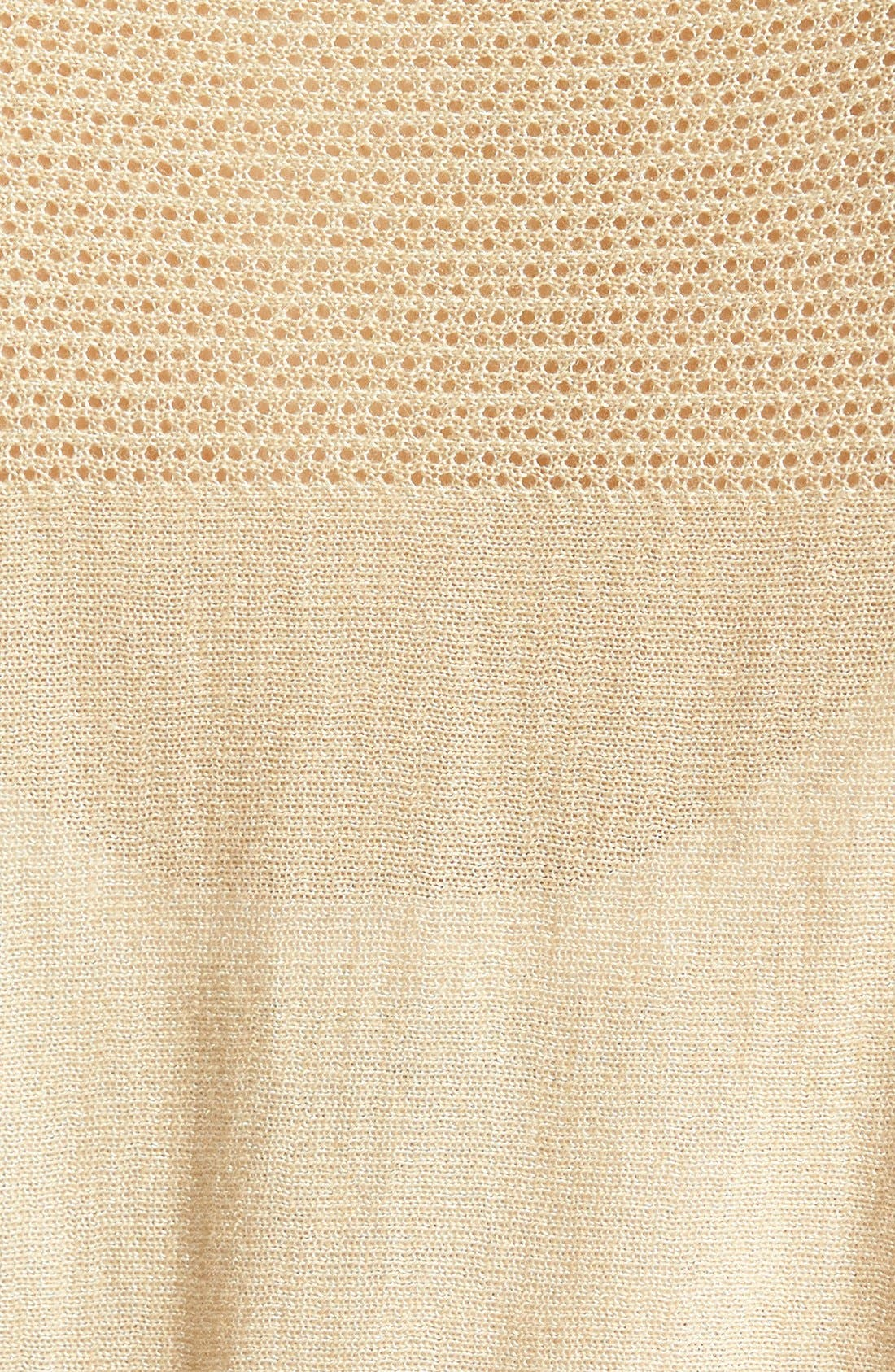 Alternate Image 3  - Nordstrom Collection 'Lula' Open Stitched Yoke Pullover Sweater