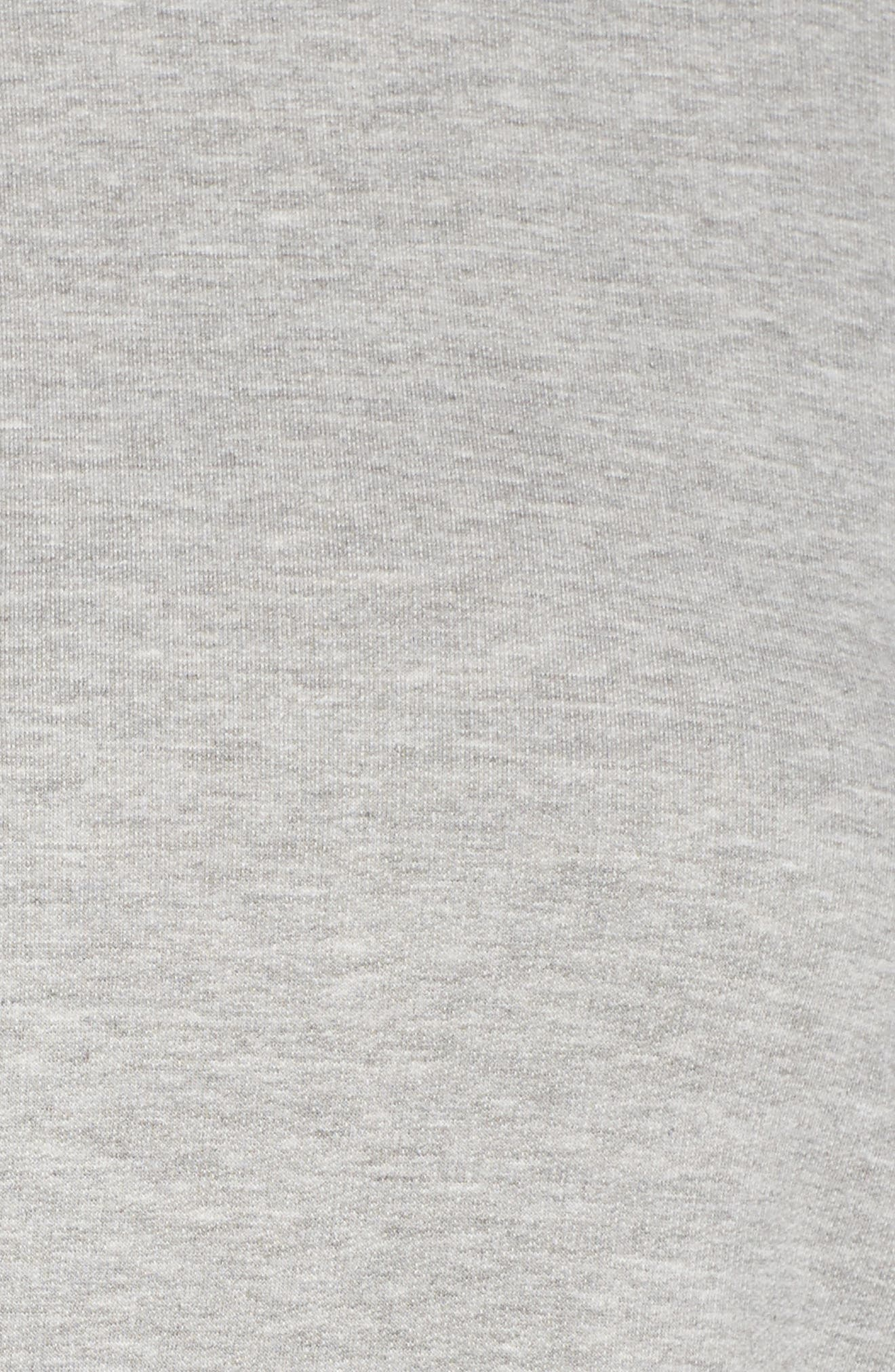 Alternate Image 5  - Caslon® High/Low Sweatshirt (Plus Size)