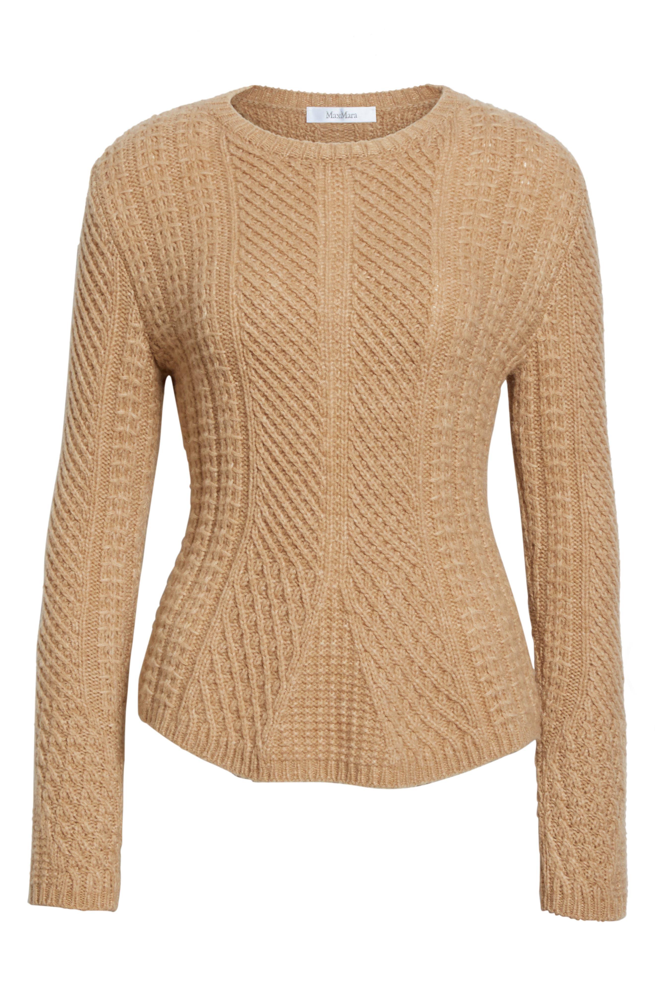 Ronco Sweater,                             Alternate thumbnail 4, color,                             Camel