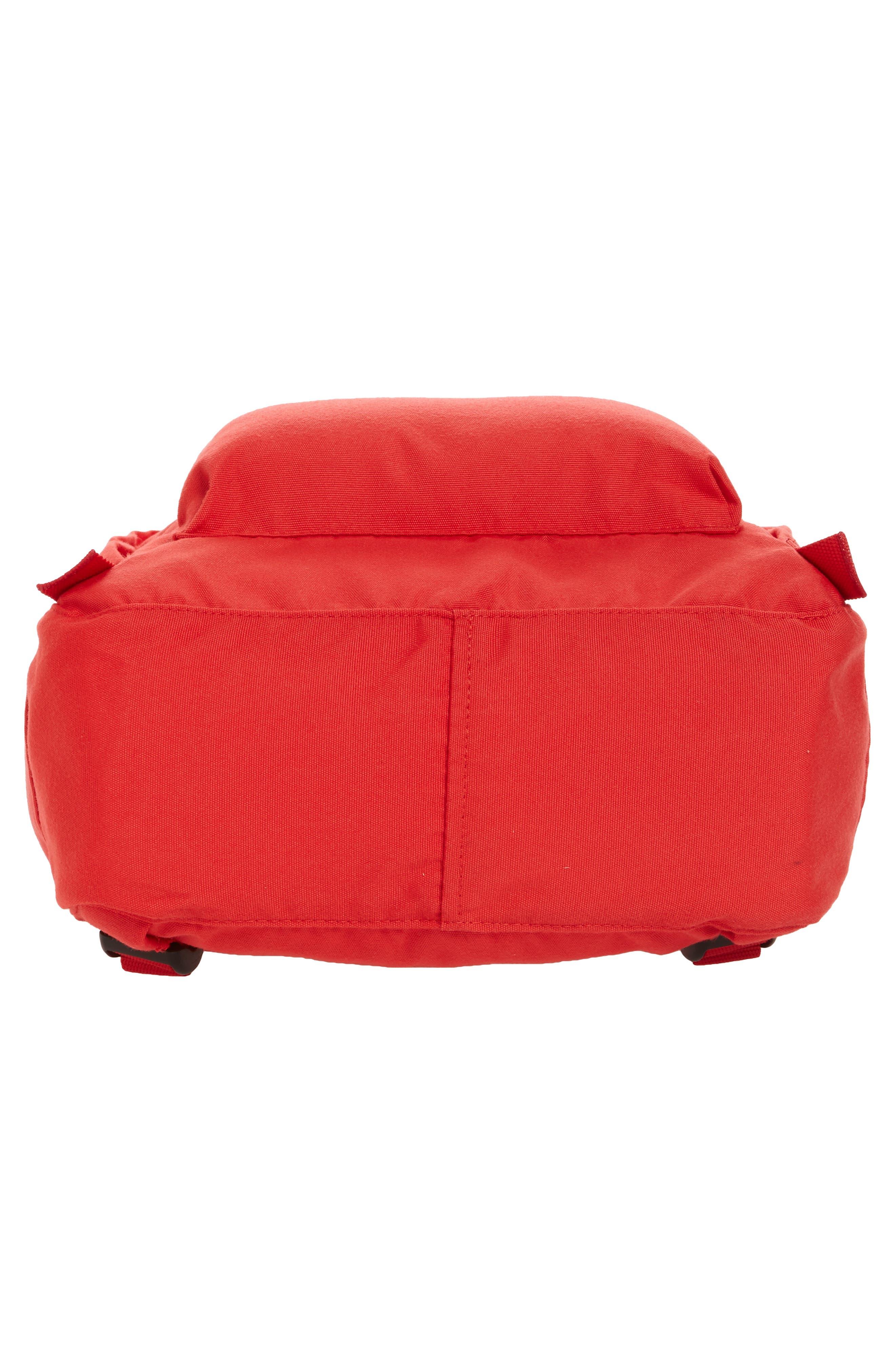 Re-Kånken Water Resistant Backpack,                             Alternate thumbnail 6, color,                             Red