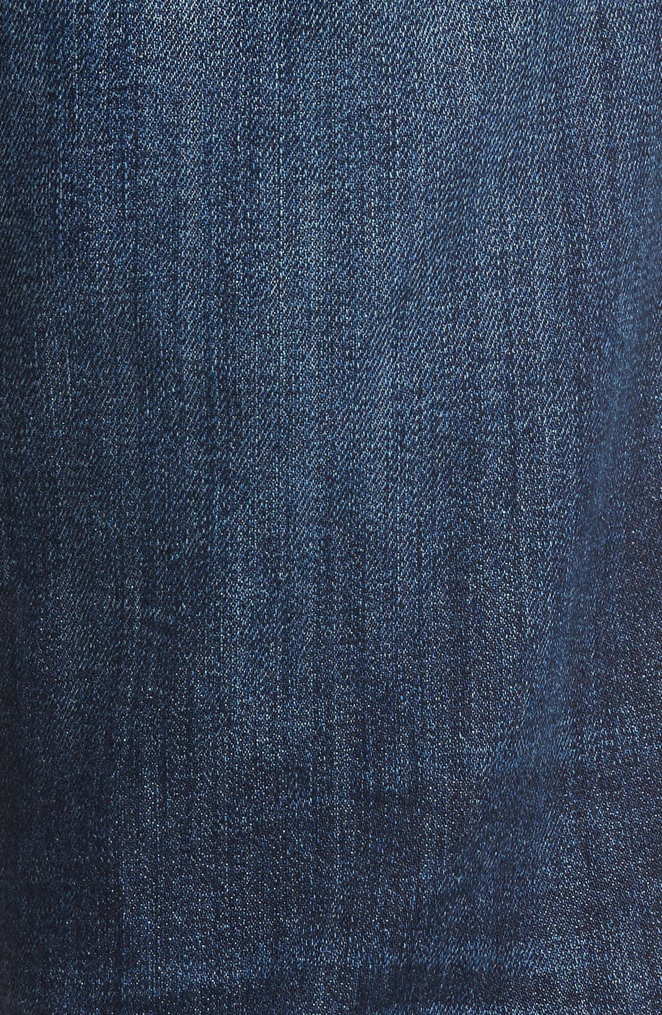 Classic Straight Fit Jeans,                             Alternate thumbnail 5, color,                             Vizzini