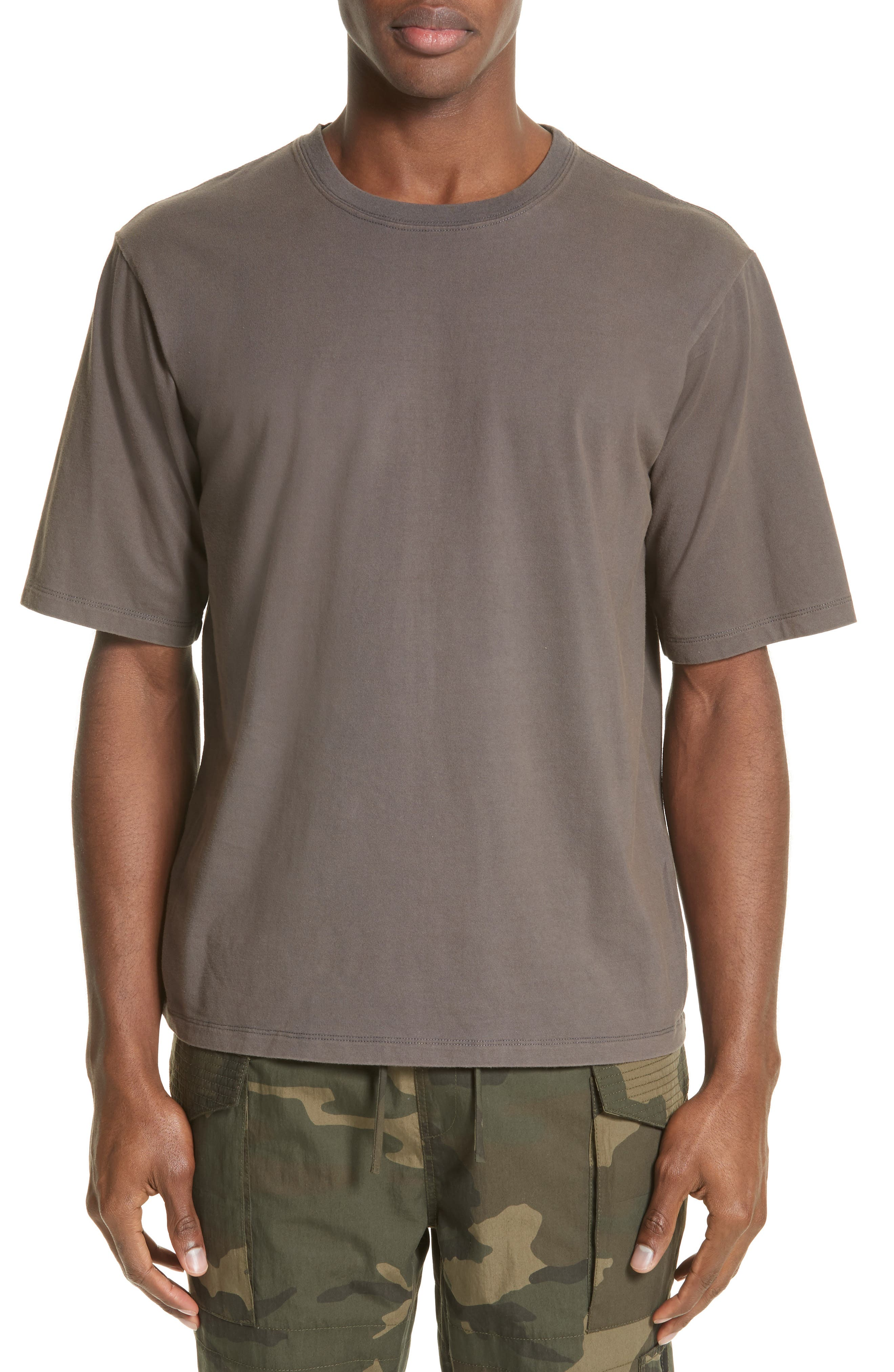 Type-01 T-Shirt,                         Main,                         color, Cement Grey