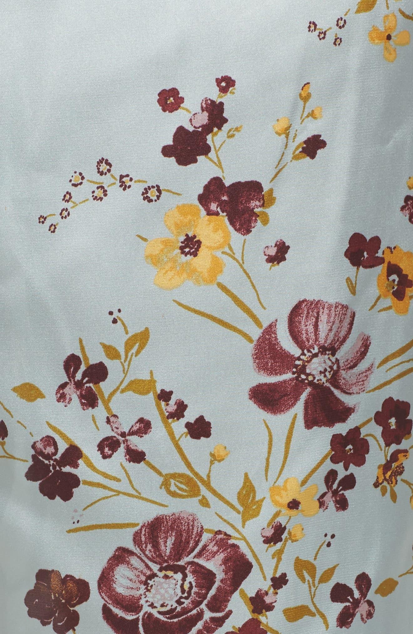 In My Dreams Pajama Pants,                             Alternate thumbnail 7, color,                             Blue Cloud Pretty Floral