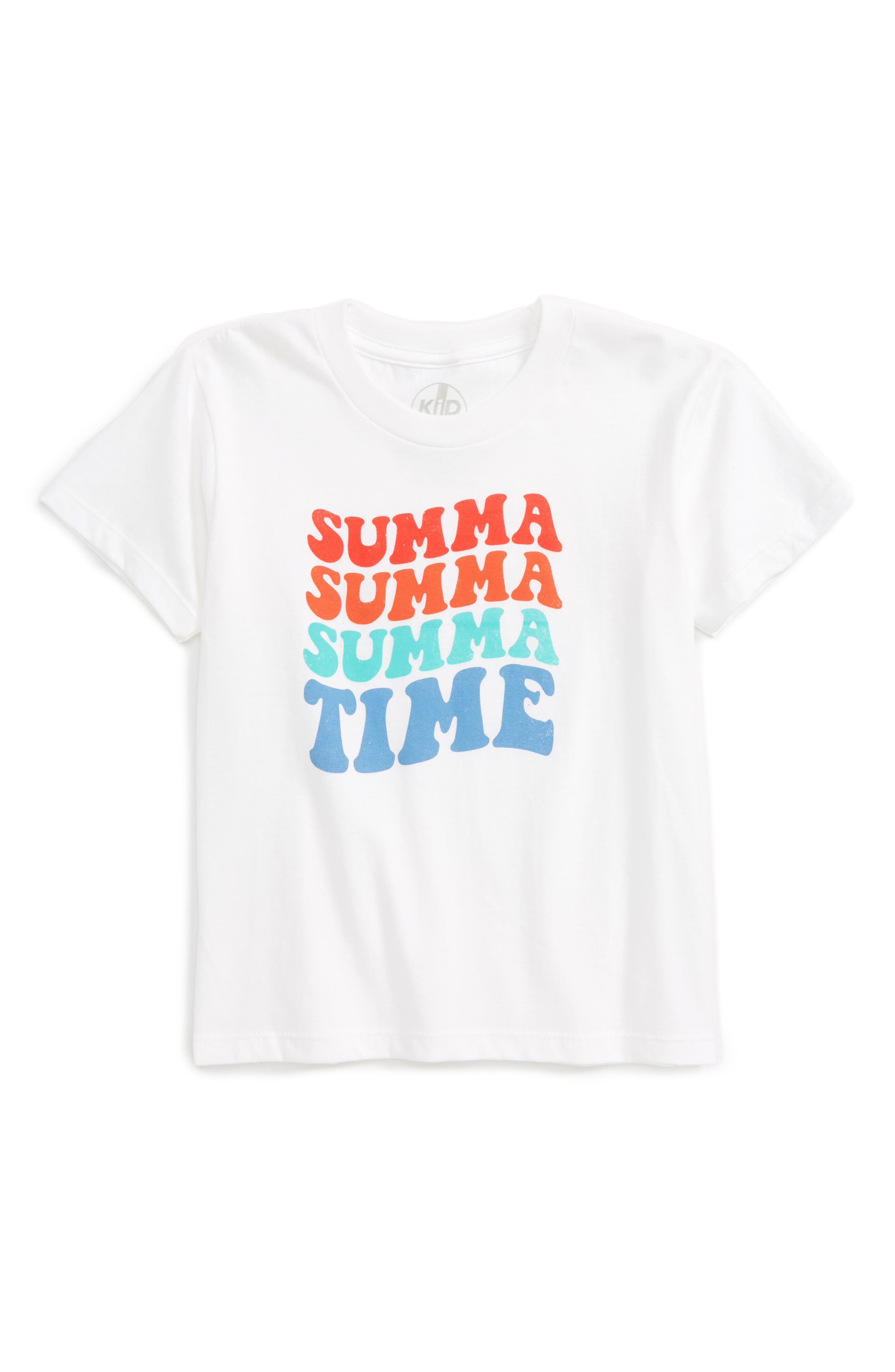KID DANGEROUS Summa Time Graphic T-Shirt