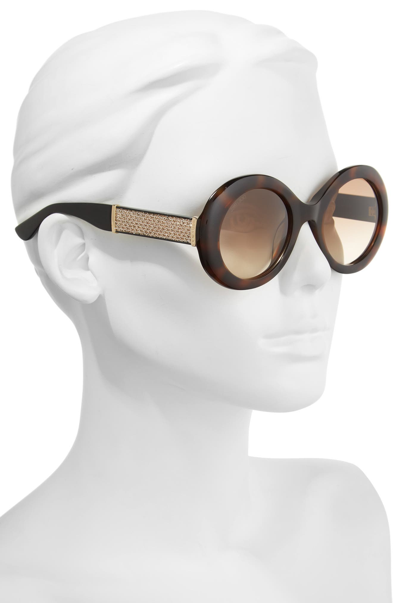 Alternate Image 2  - Jimmy Choo Wendy 51mm Round Sunglasses