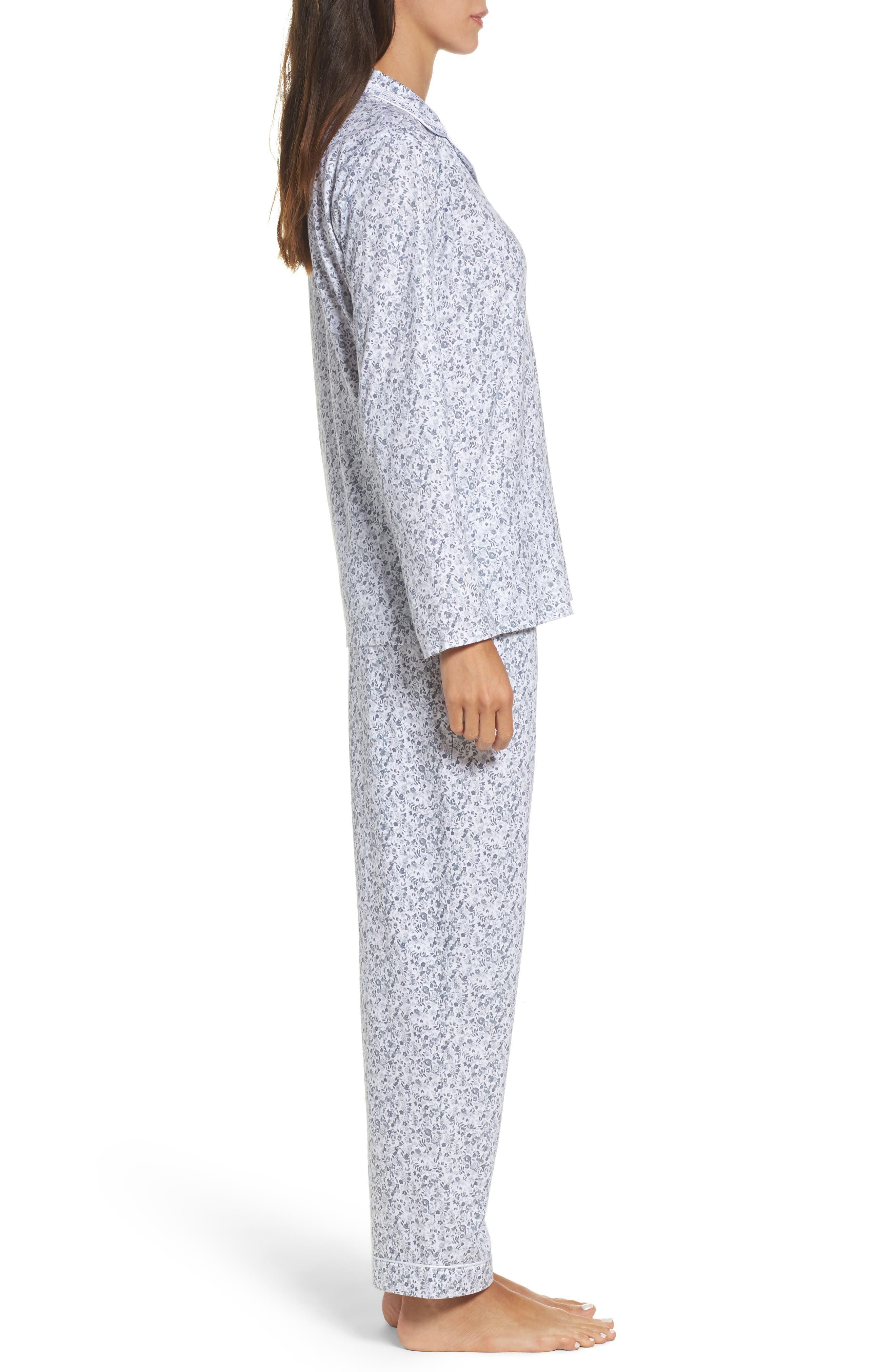 Alternate Image 3  - Eileen West Ditsy Print Pajamas