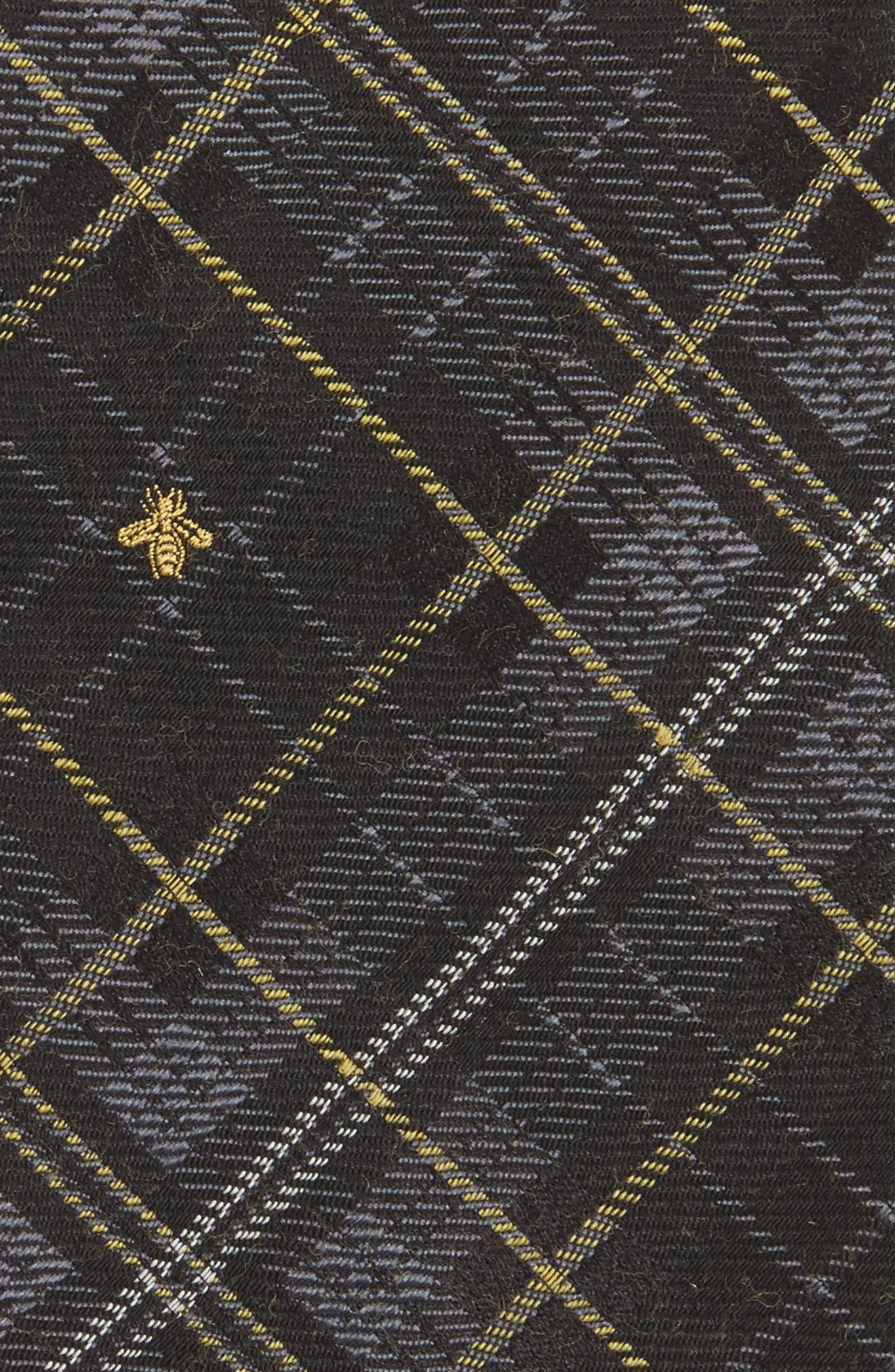 Alternate Image 2  - Gucci Kilt Bee Plaid Jacquard Tie