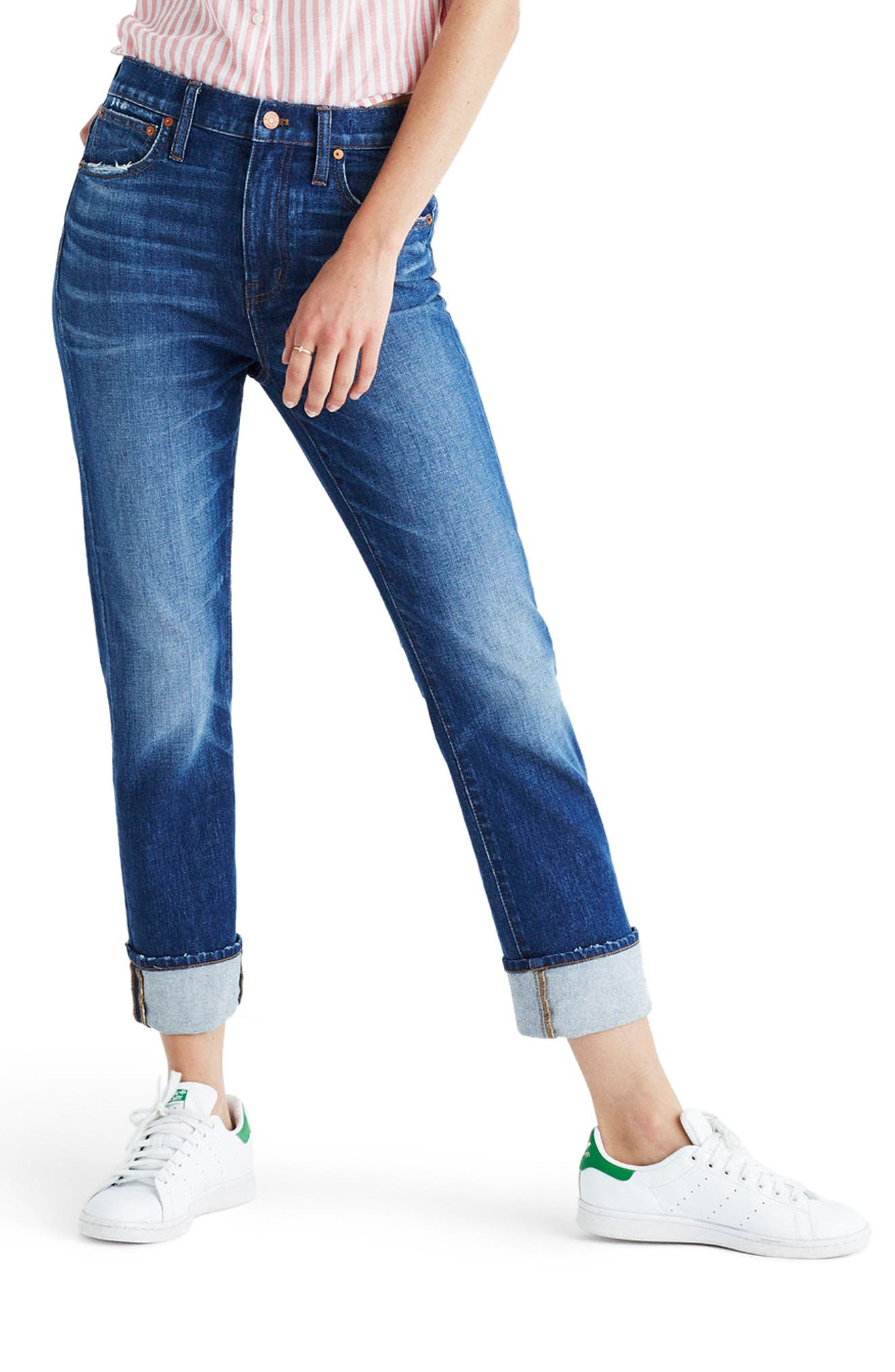 Alternate Image 1 Selected - Madewell The High-Rise Slim Boyjean