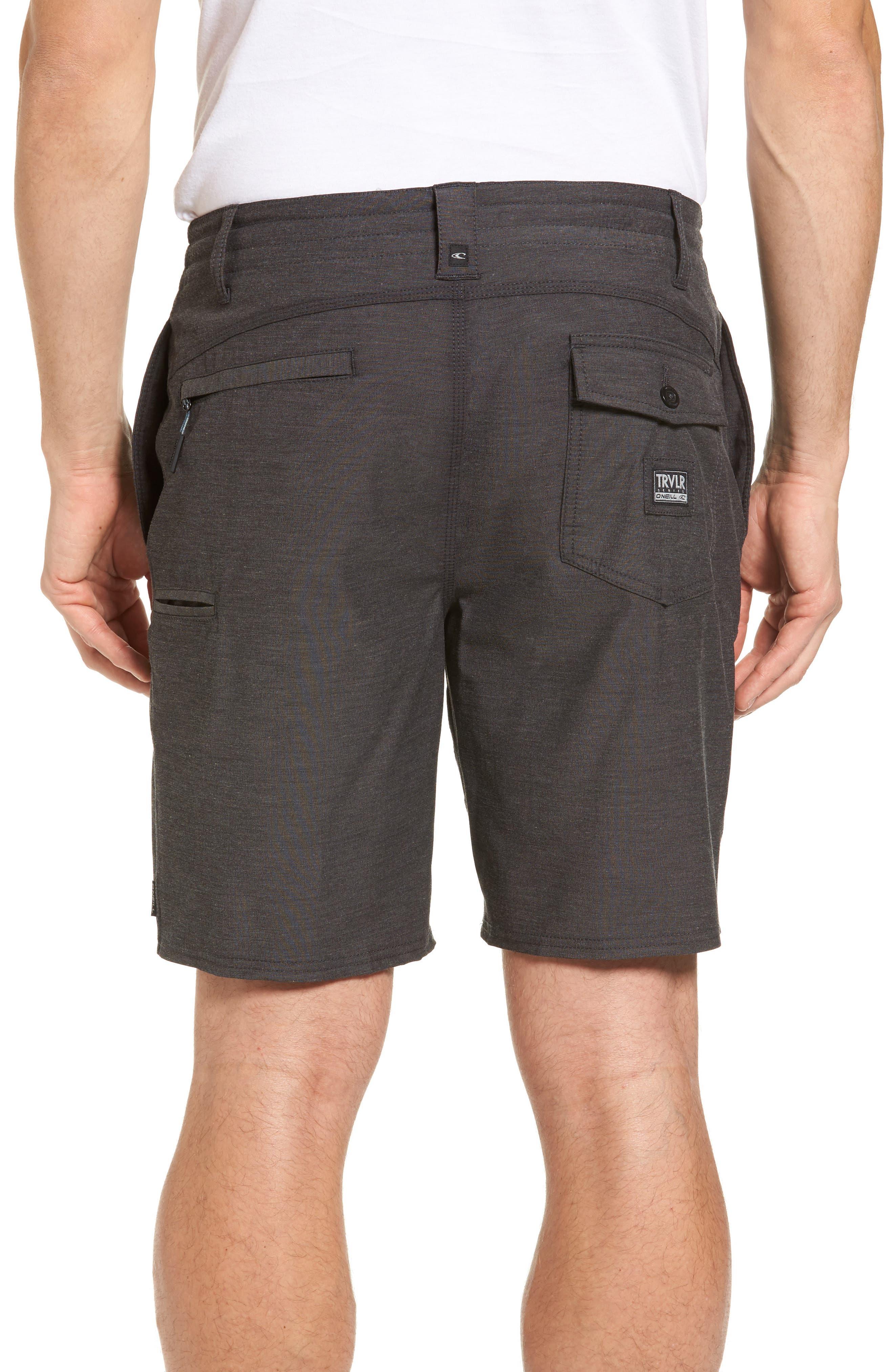Traveler Recon Hybrid Shorts,                             Alternate thumbnail 2, color,                             Black