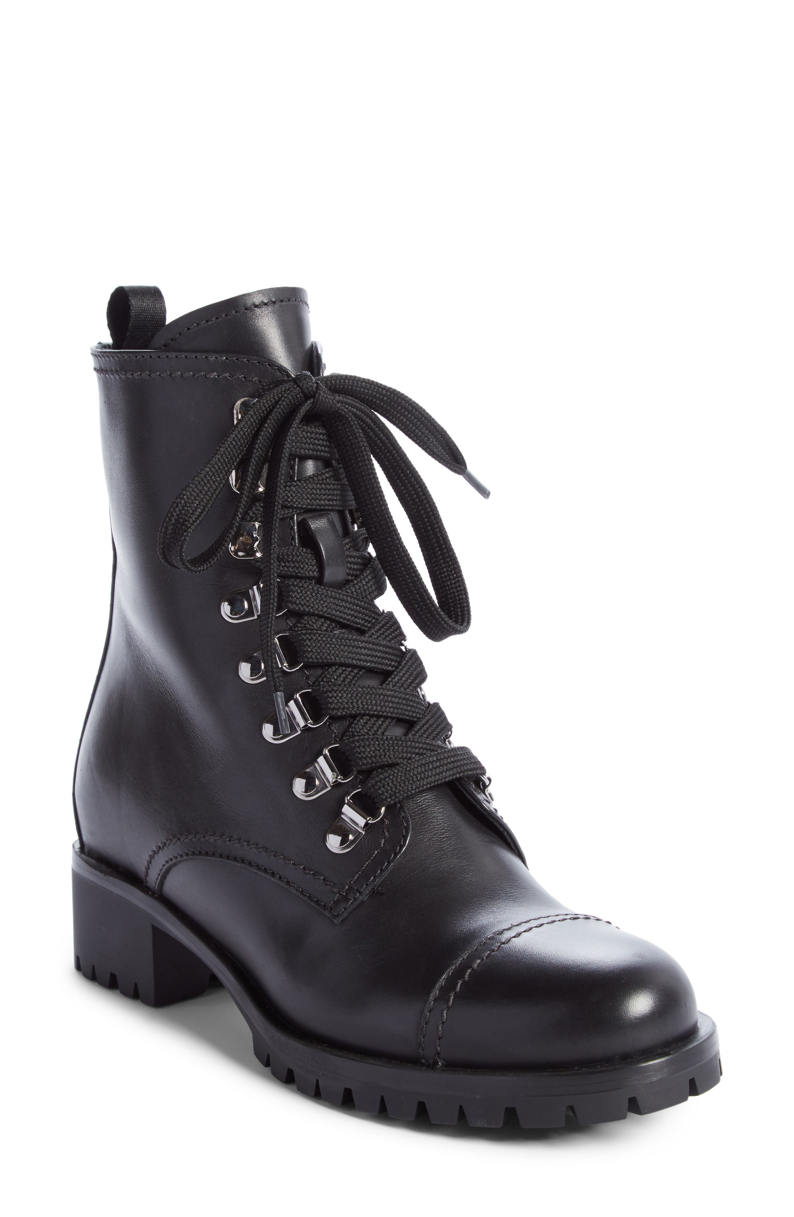 Prada Combat Boot (Women)