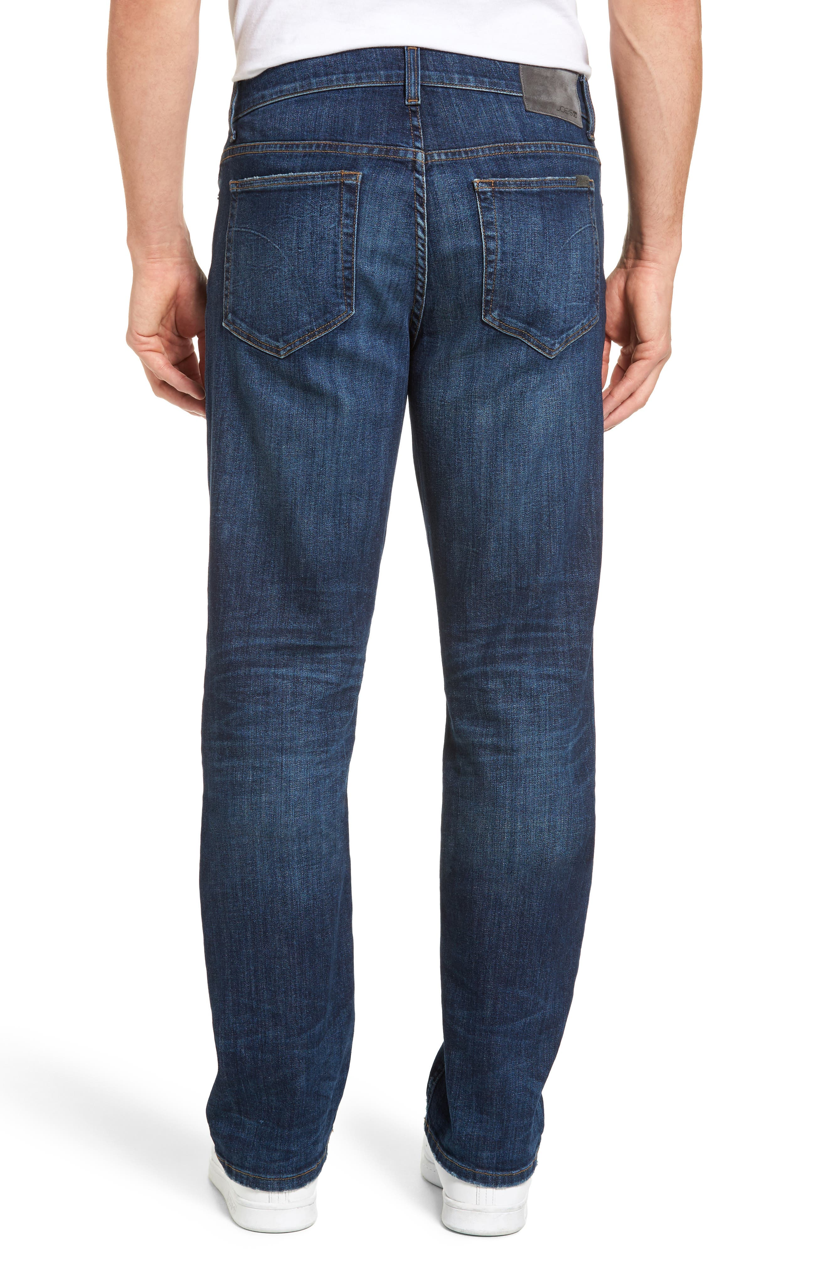Classic Straight Fit Jeans,                             Alternate thumbnail 2, color,                             Vizzini