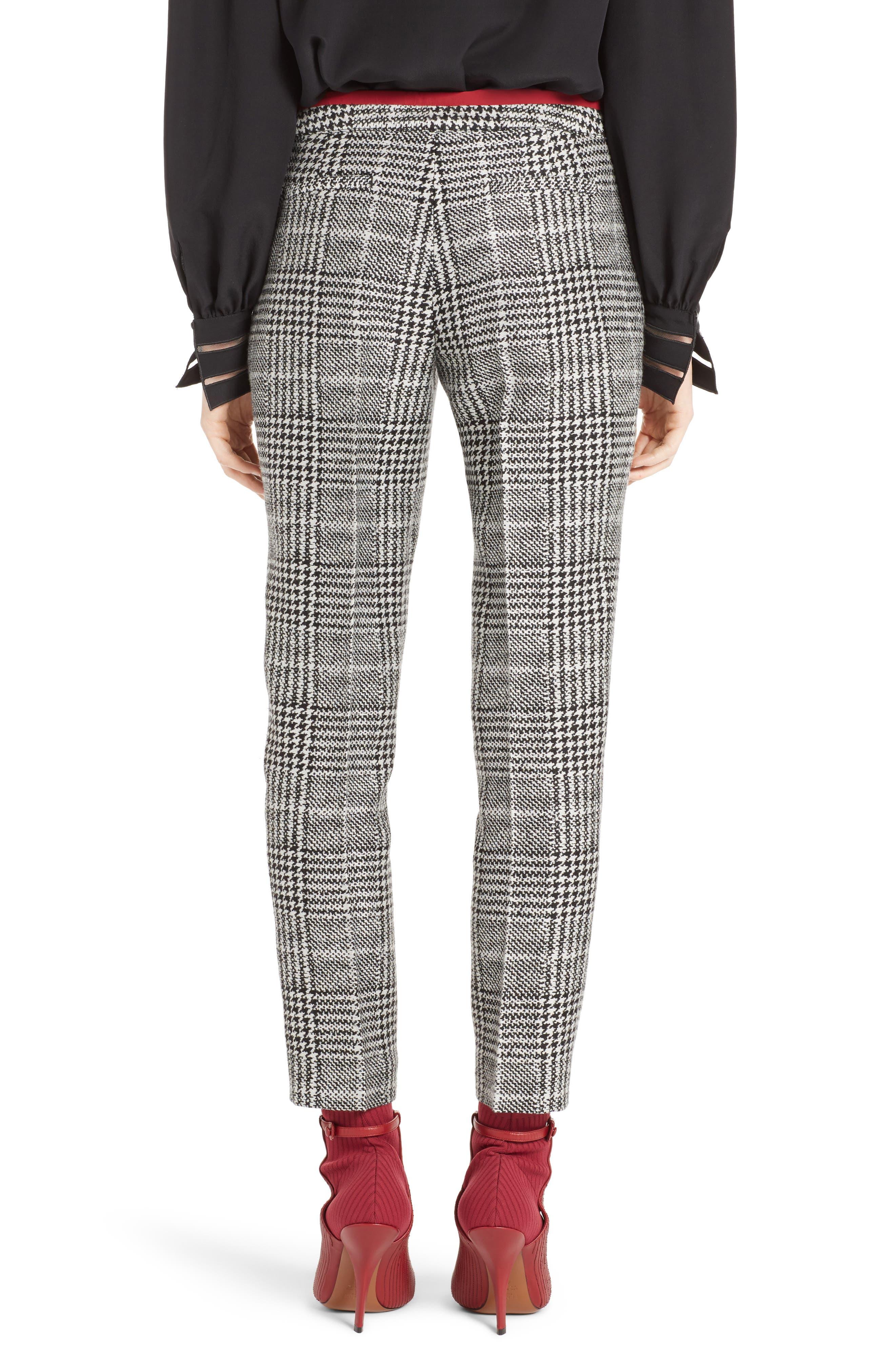 Alternate Image 2  - Fendi Prince of Wales Print Crop Pants
