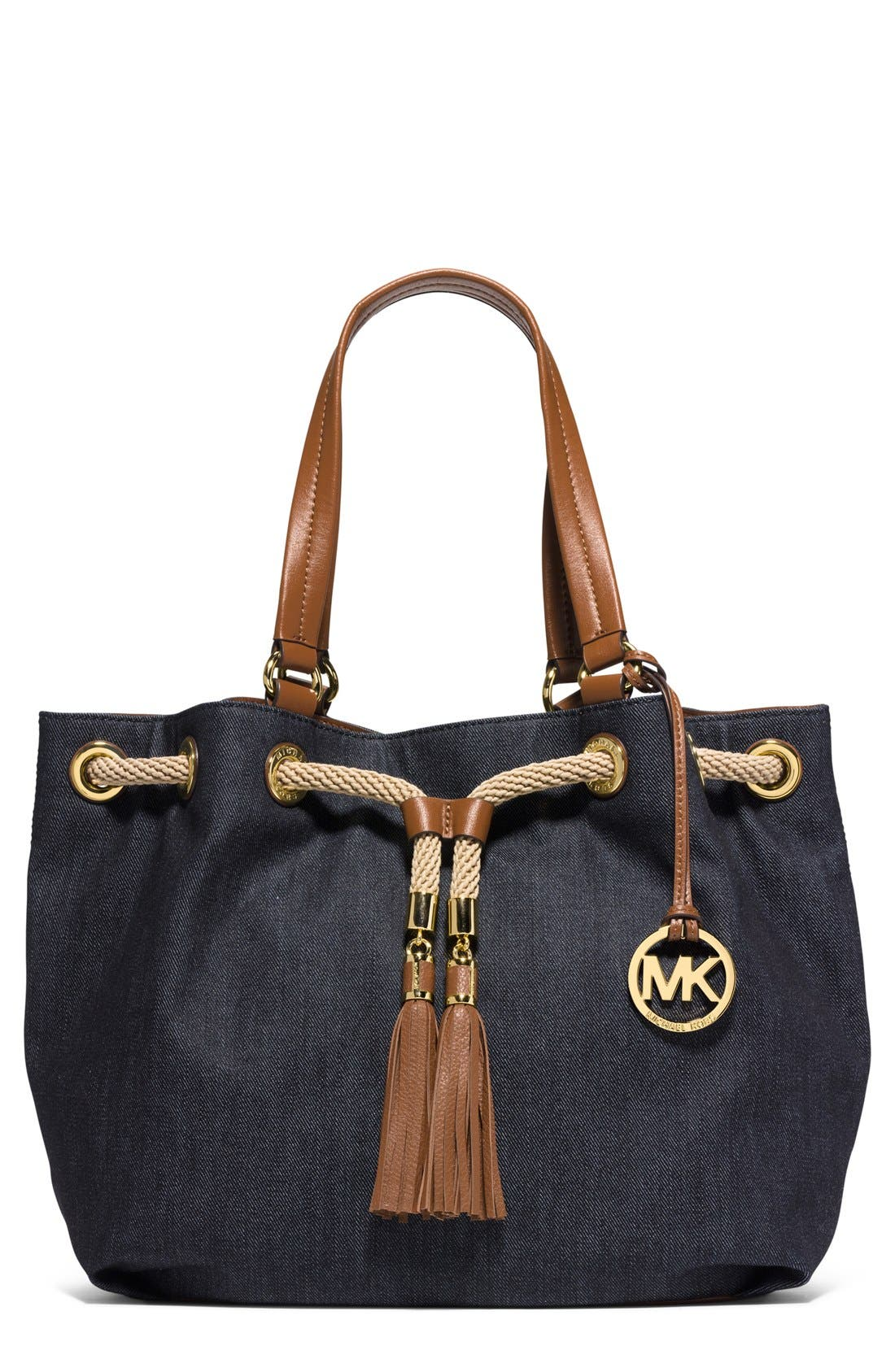 Alternate Image 1 Selected - MICHAEL Michael Kors 'Large Marina' Gathered Tote