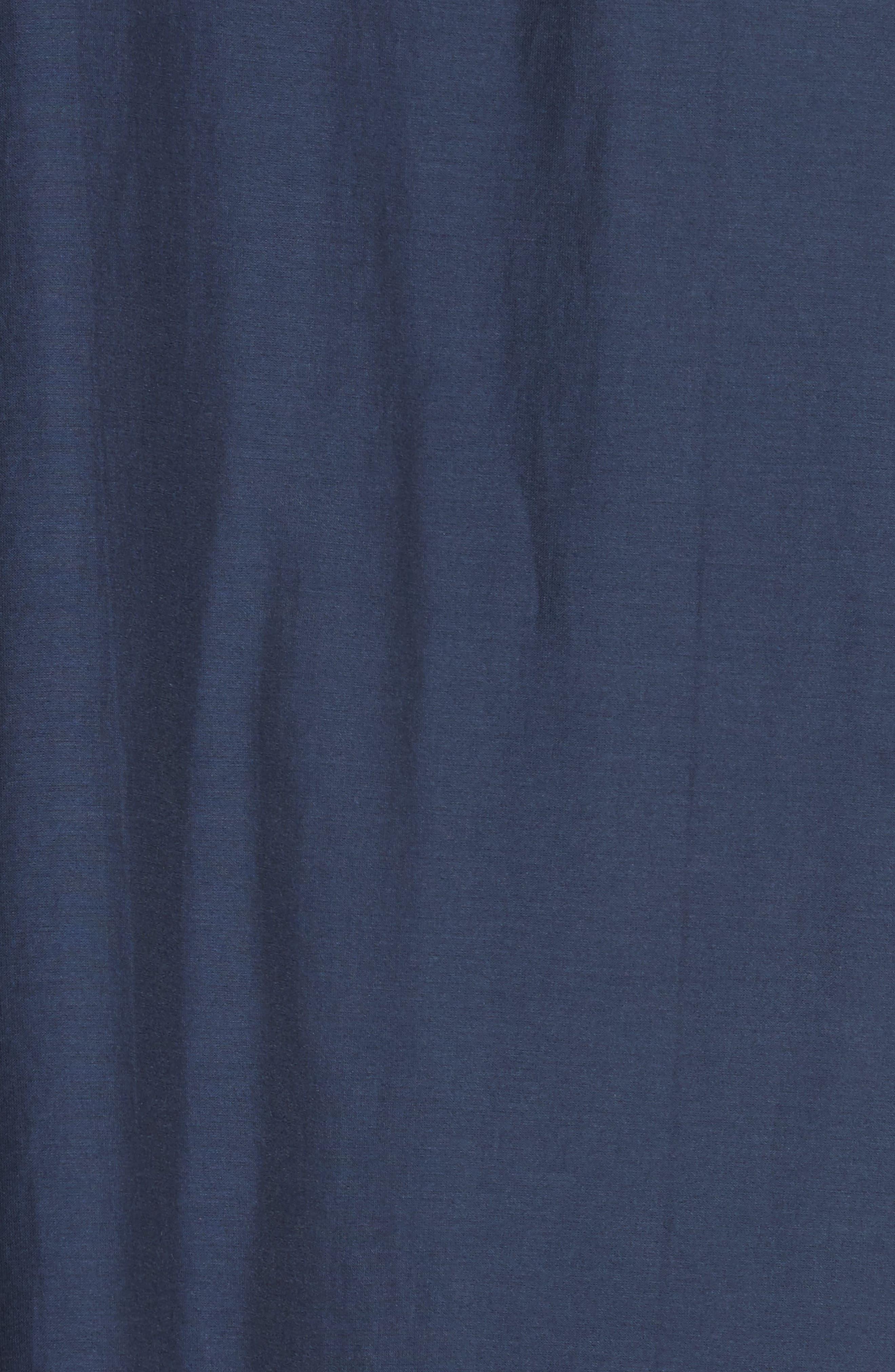 Alternate Image 5  - Sea Pompom Cotton & Silk Tunic Dress