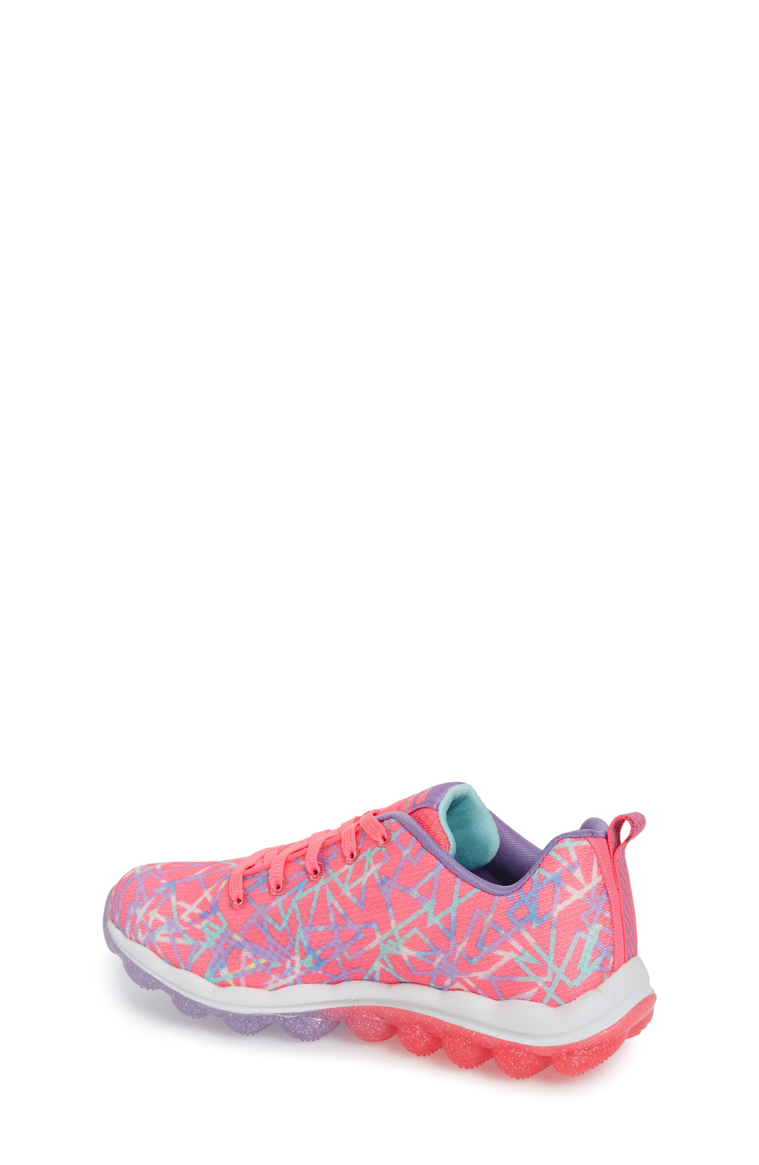 Skech-Air Sneaker,                             Alternate thumbnail 2, color,                             Pink