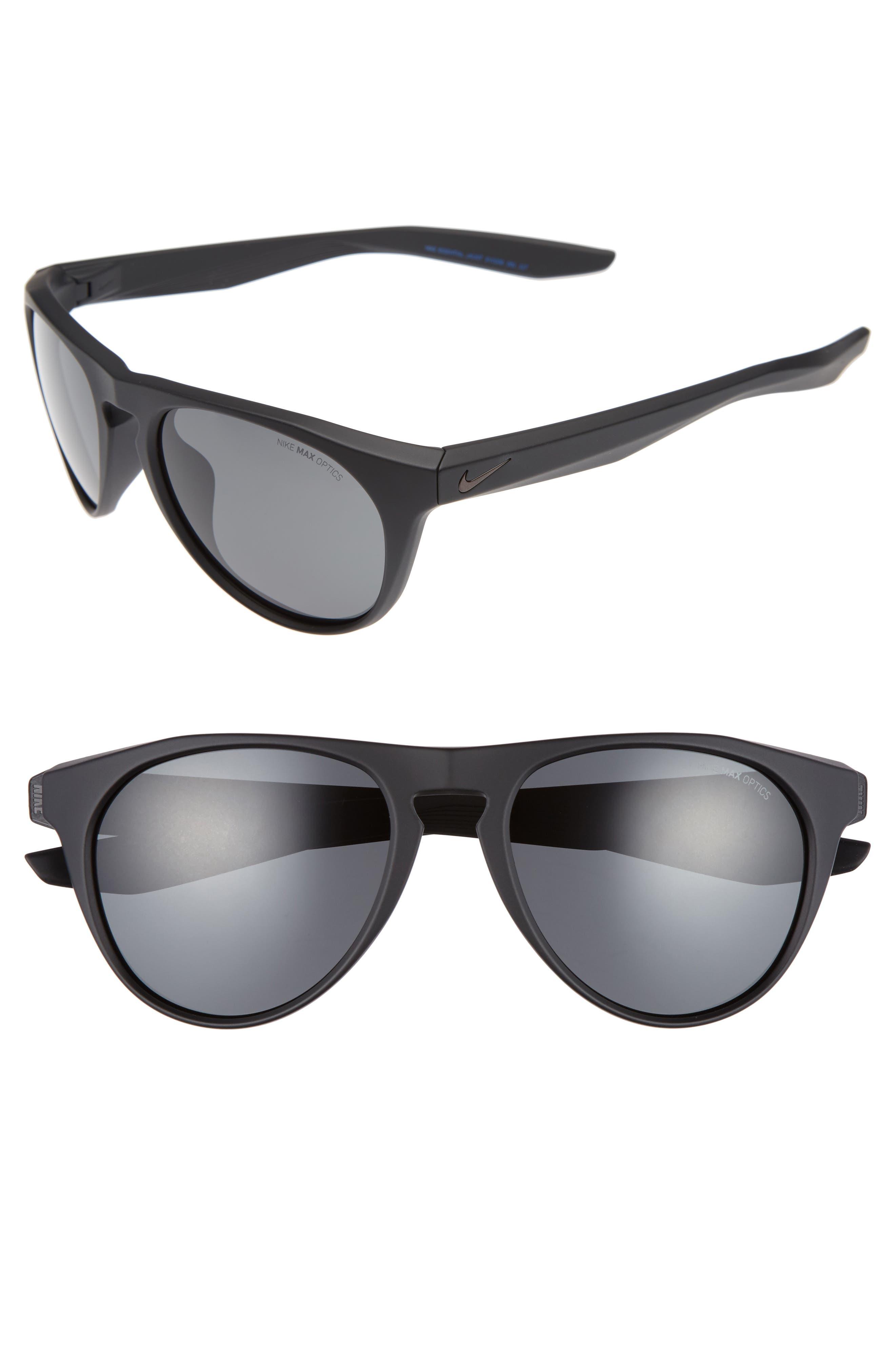 Essential Jaunt 56mm Sunglasses,                         Main,                         color, Matte Black