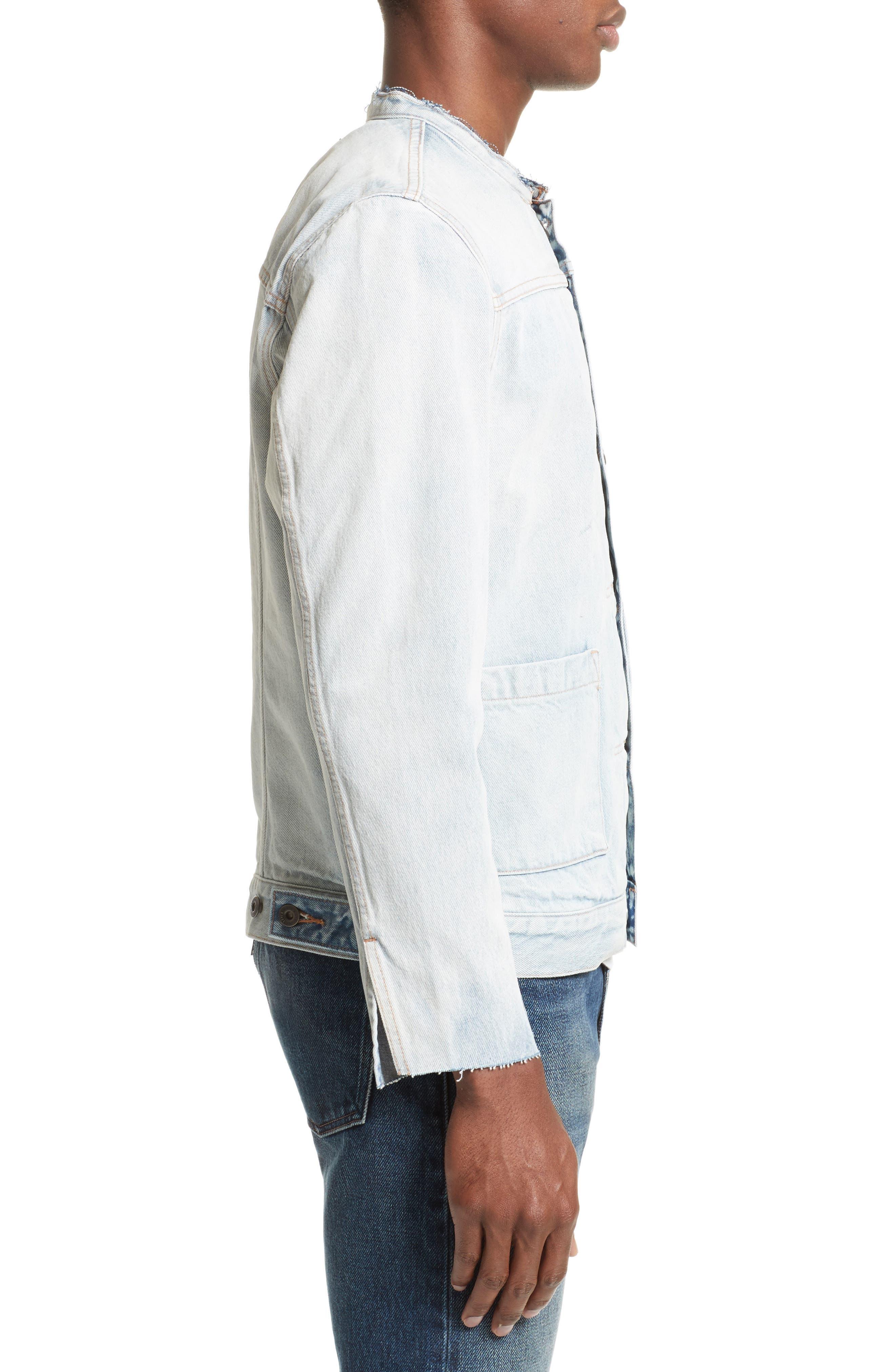 Alternate Image 3  - Levi's® Made & Crafted™ Type II Trucker Raw Edge Denim Jacket