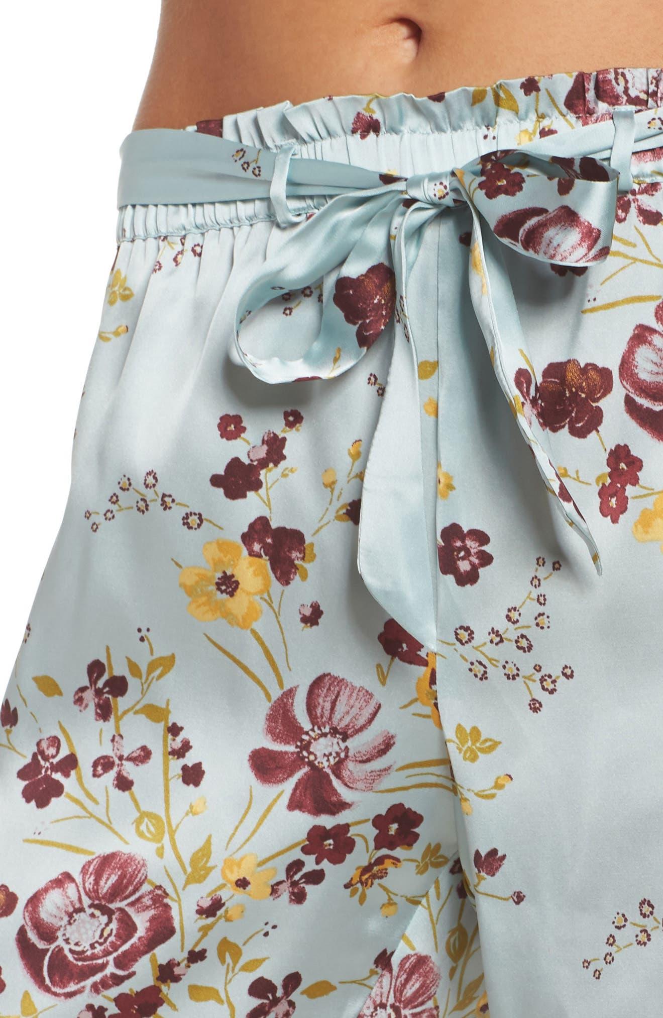 In My Dreams Pajama Pants,                             Alternate thumbnail 6, color,                             Blue Cloud Pretty Floral