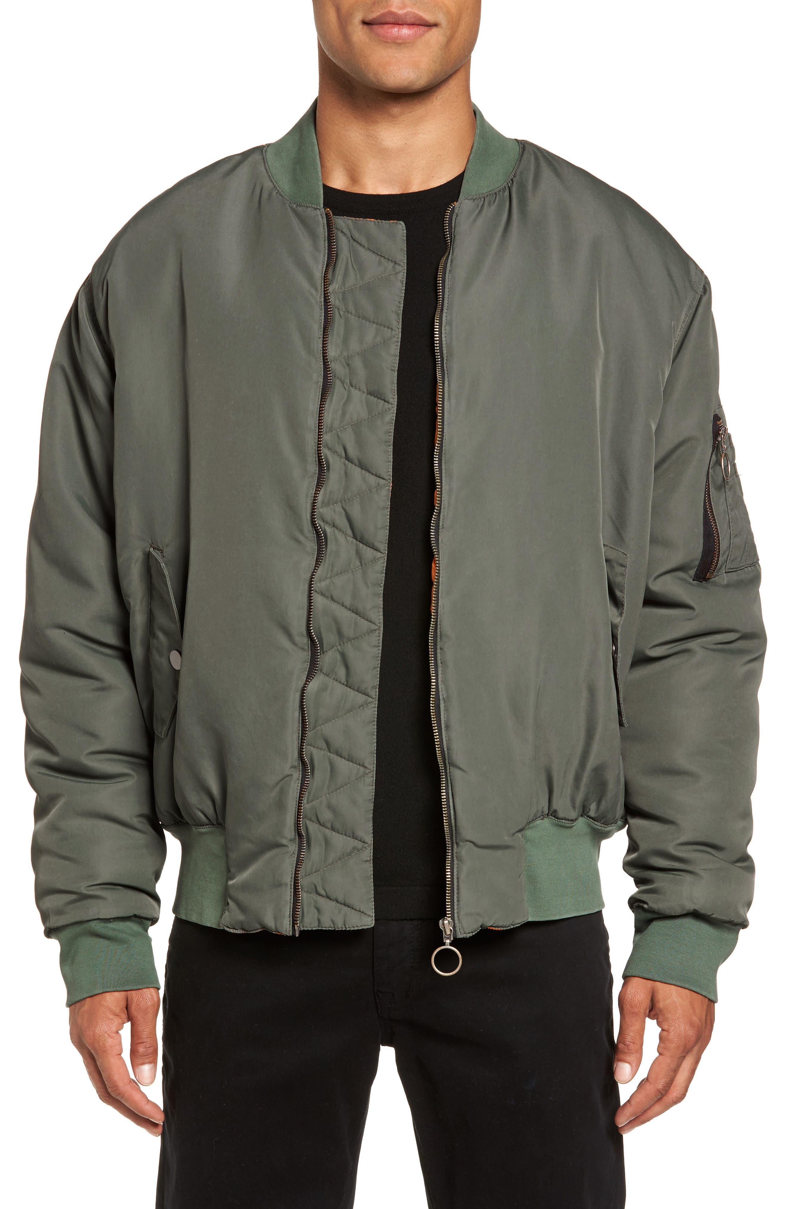 Hudson Jeans Zeke Slim Fit Bomber Jacket