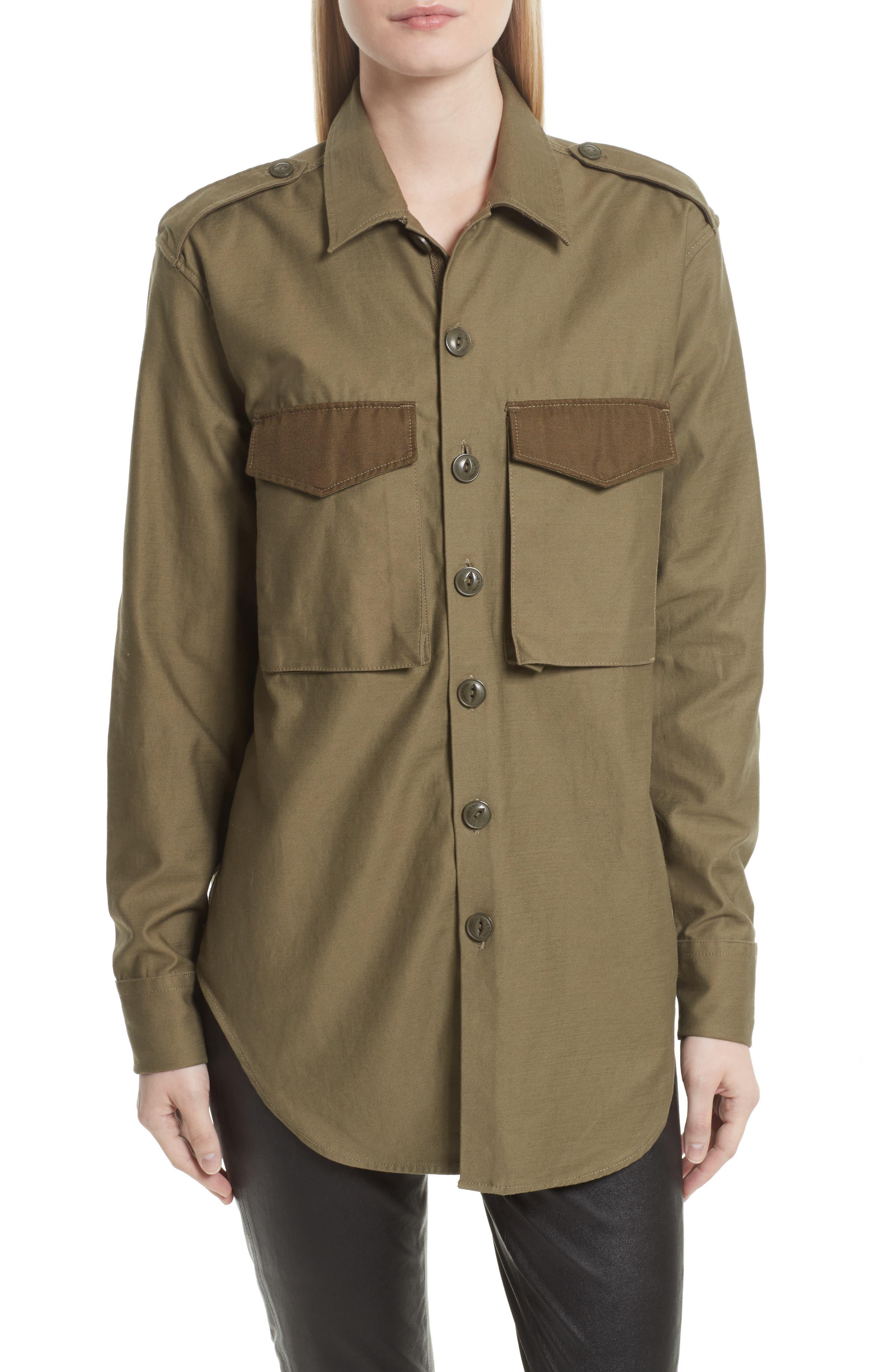 Surplus Shirt Jacket,                         Main,                         color, Olive