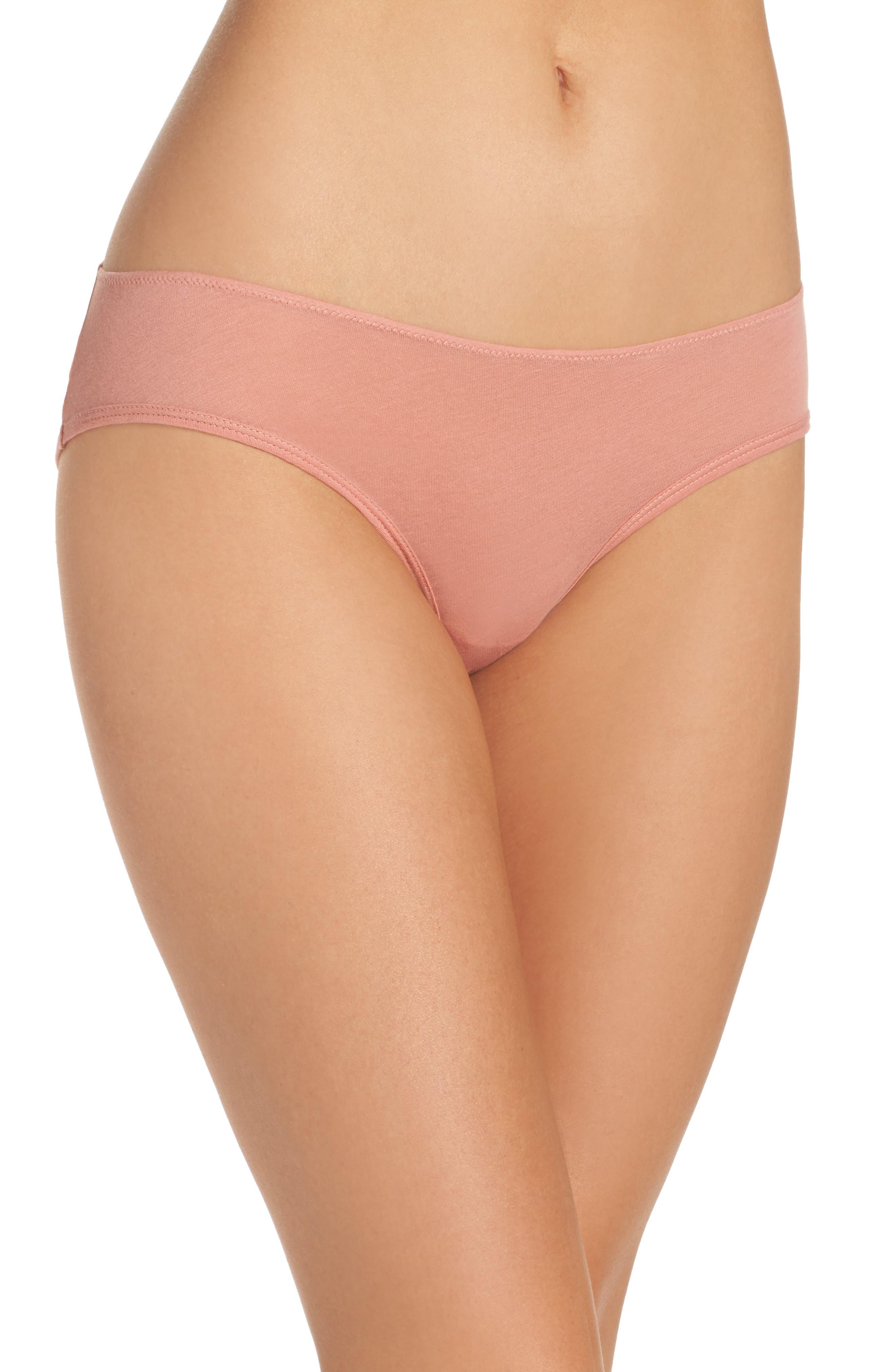 Alternate Image 1 Selected - skin Organic Cotton Bikini