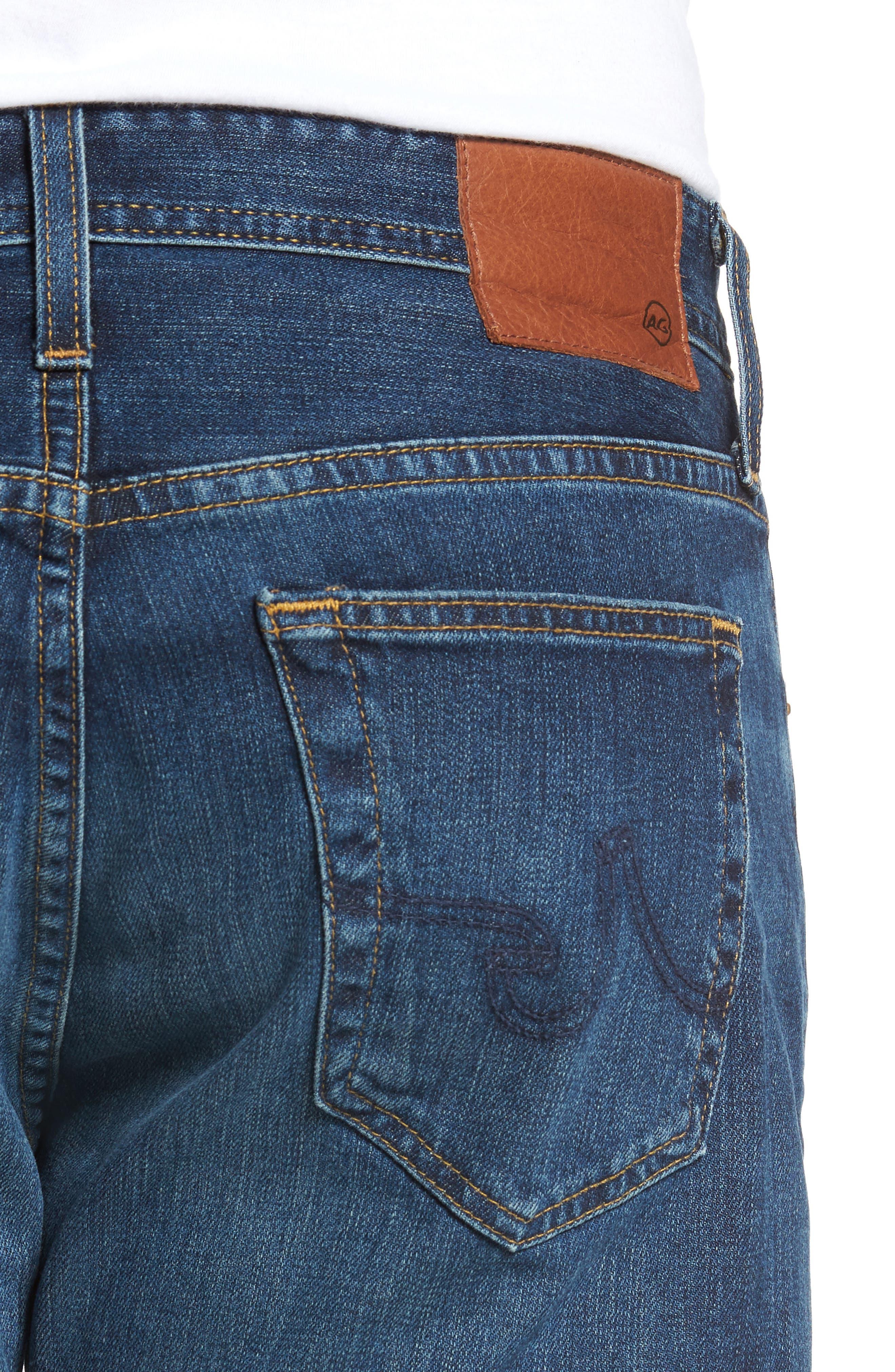 Alternate Image 4  - AG Ives Straight Leg Jeans (9 Years Hammer)