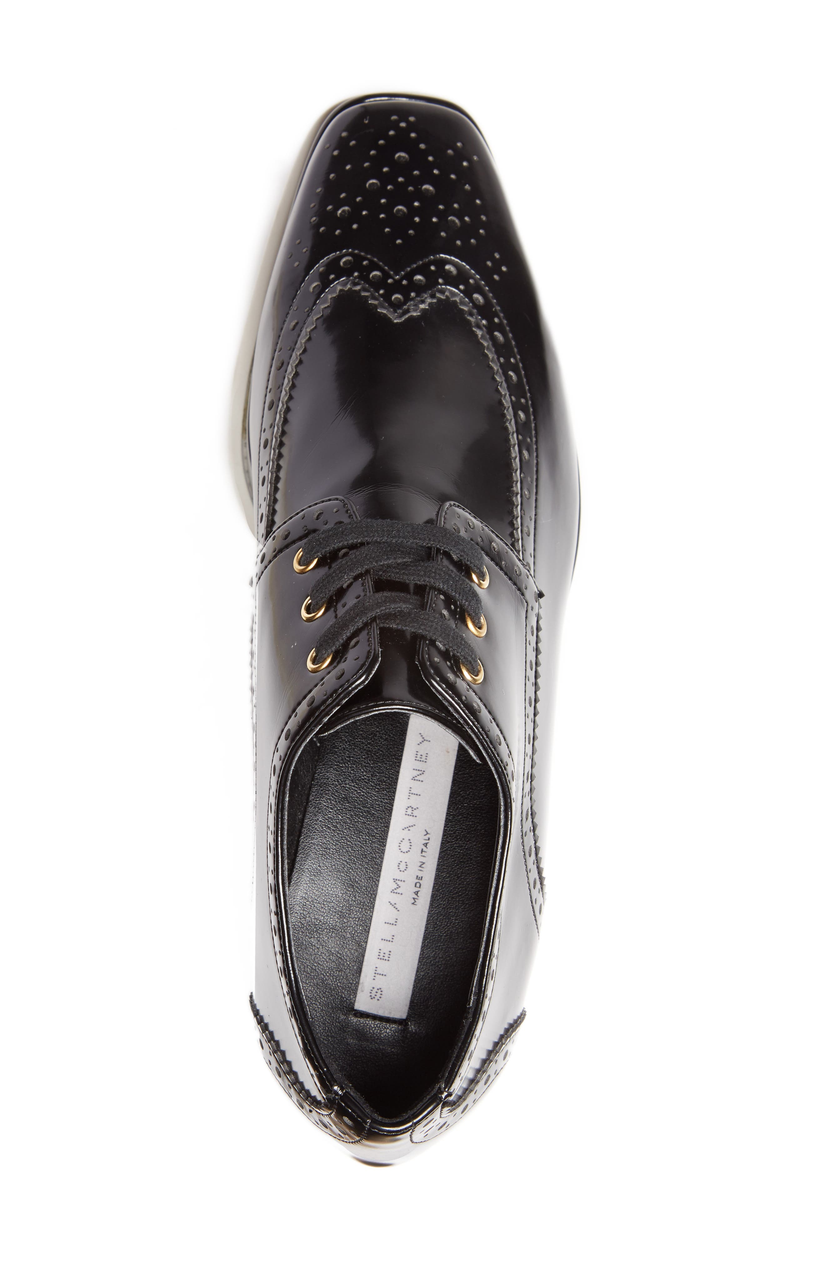 Alternate Image 5  - Stella McCartney Elyse Brogue Platform Loafer (Women)