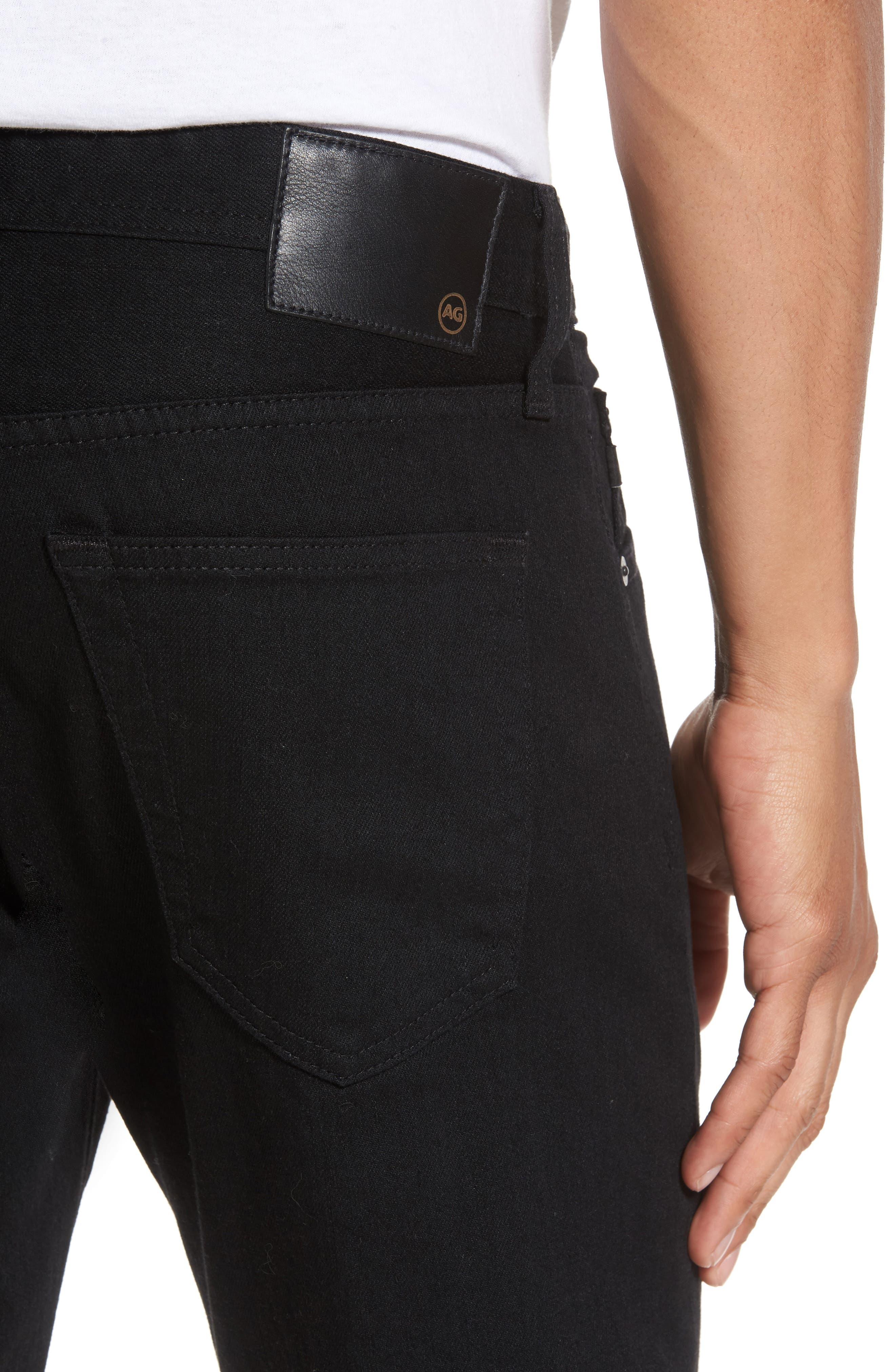 Tellis Slim Fit Jeans,                             Alternate thumbnail 4, color,                             Deep Pitch