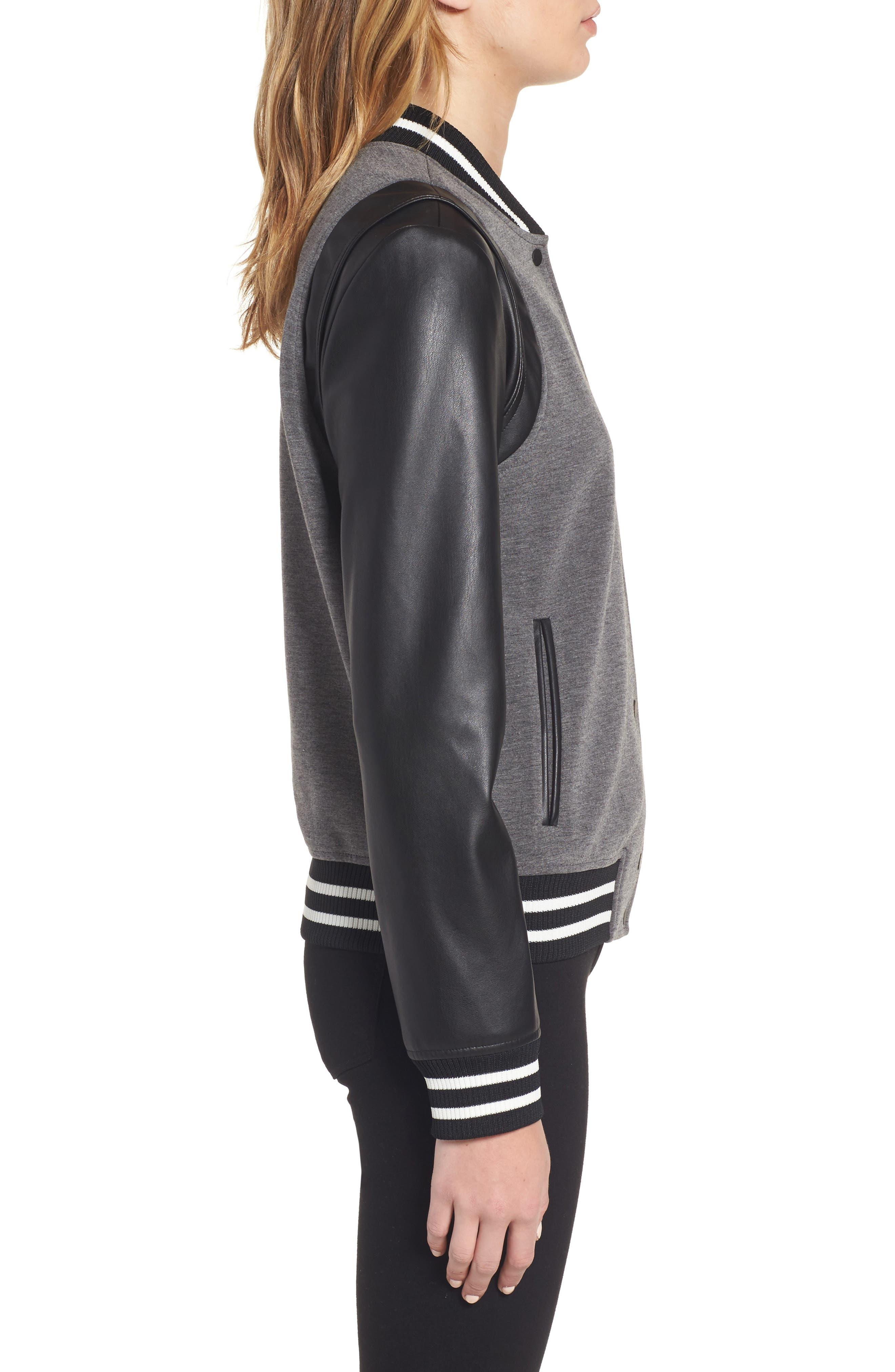 Alternate Image 4  - Trouvé Varsity Jacket