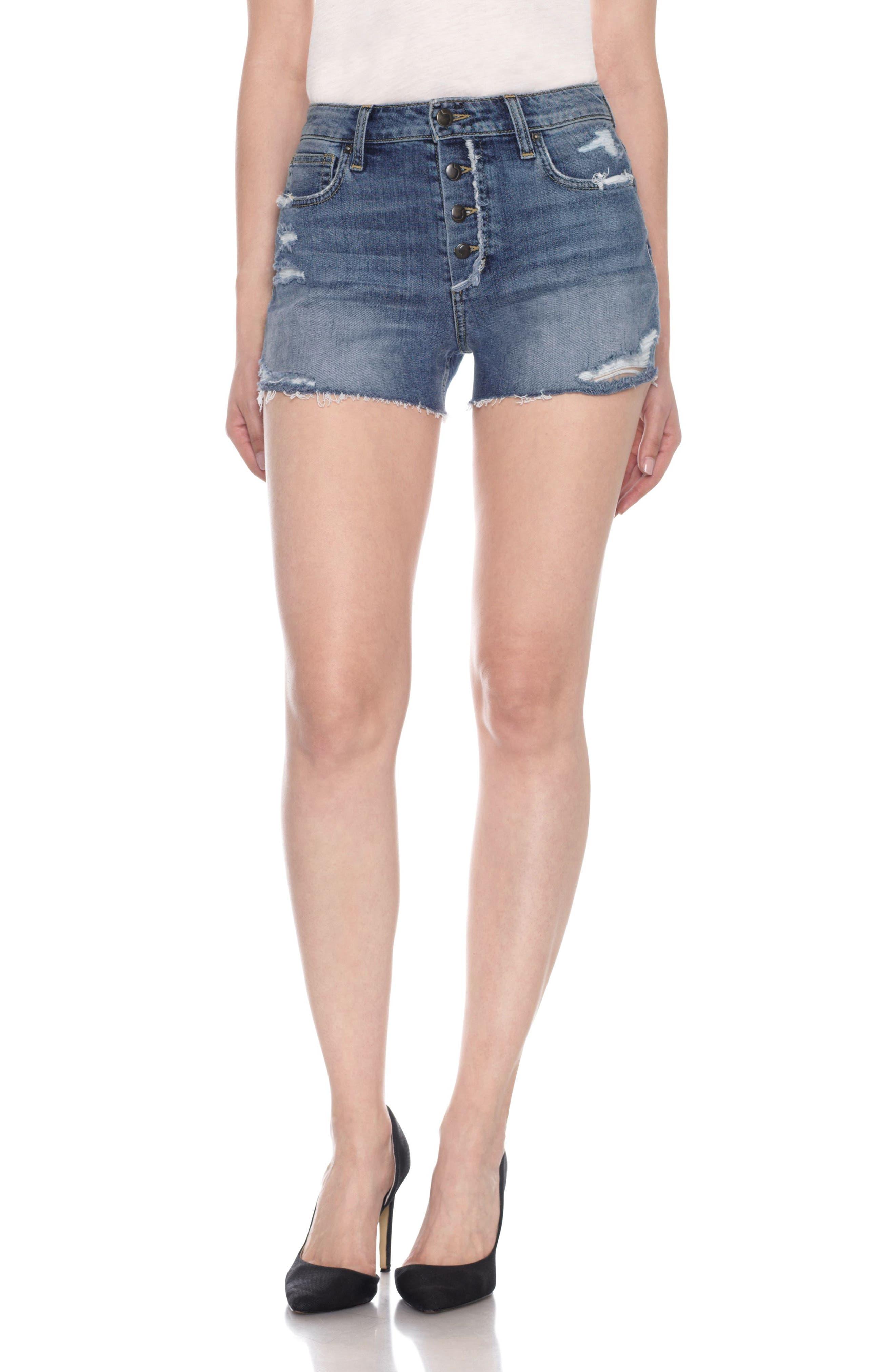 Joe's Collectors - Charlie Distressed Cutoff Shorts (Diega)