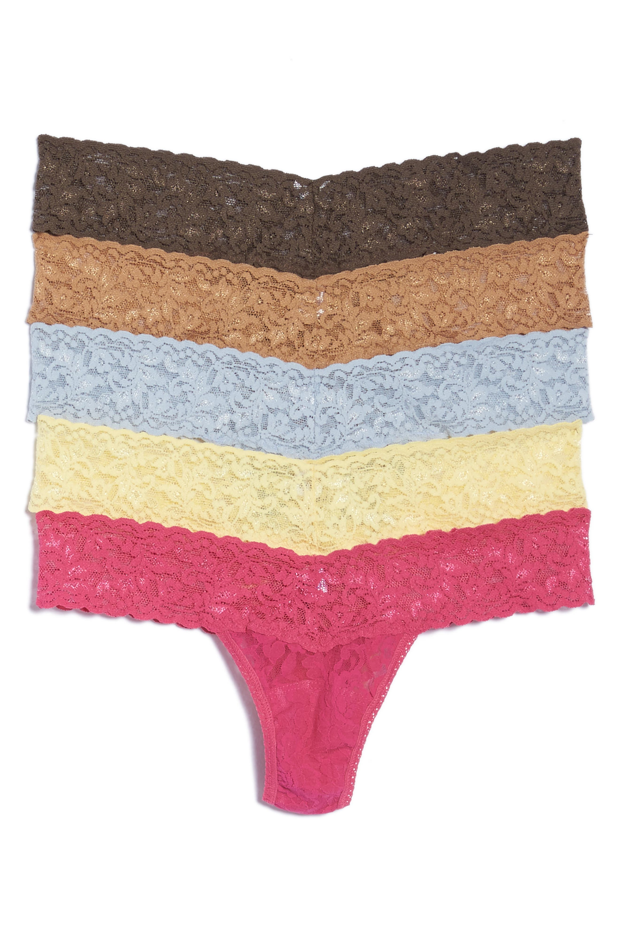 Hanky Panky Low Rise Thong (5-Pack)