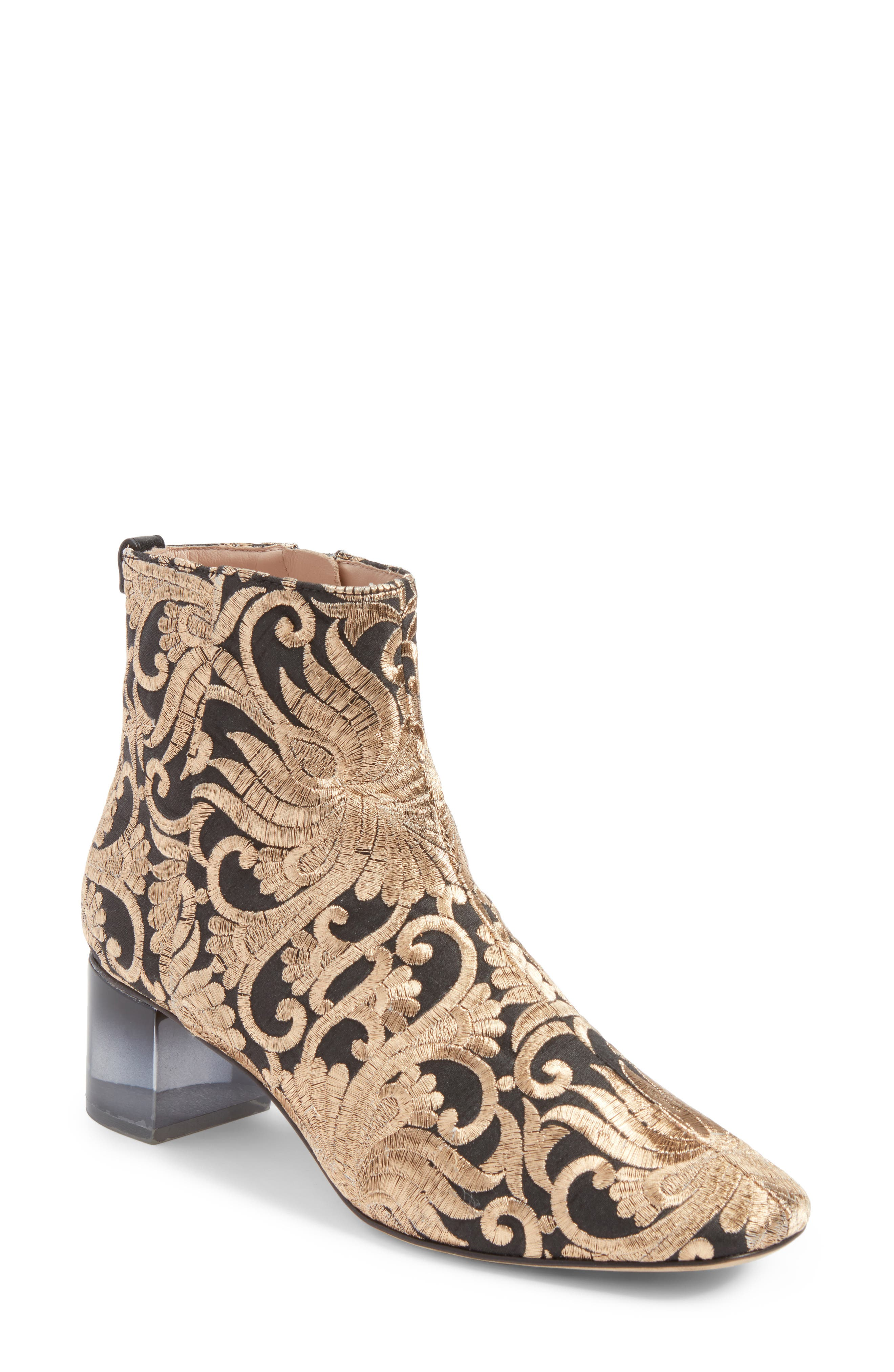TORY BURCH Carlotta Embroidered Bootie