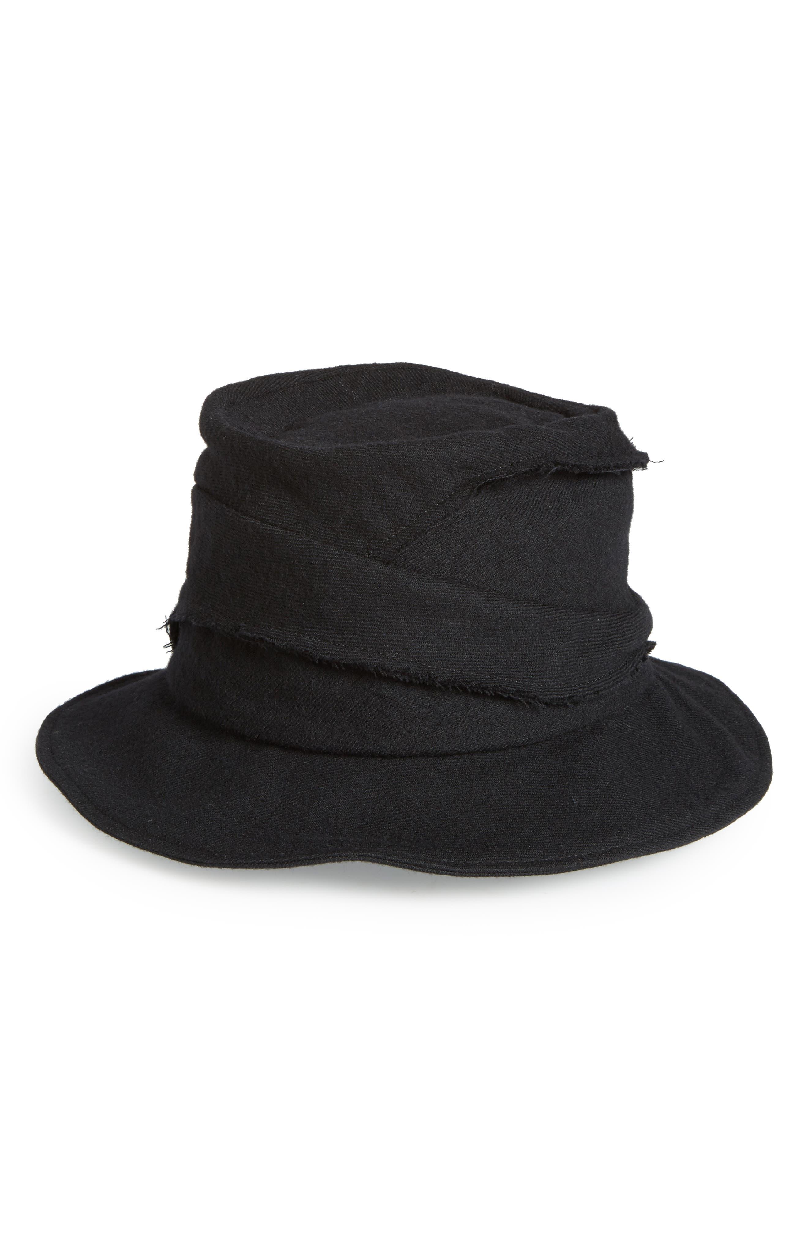 Alternate Image 1 Selected - Y's by Yohji Yamamoto Layered Wool Hat