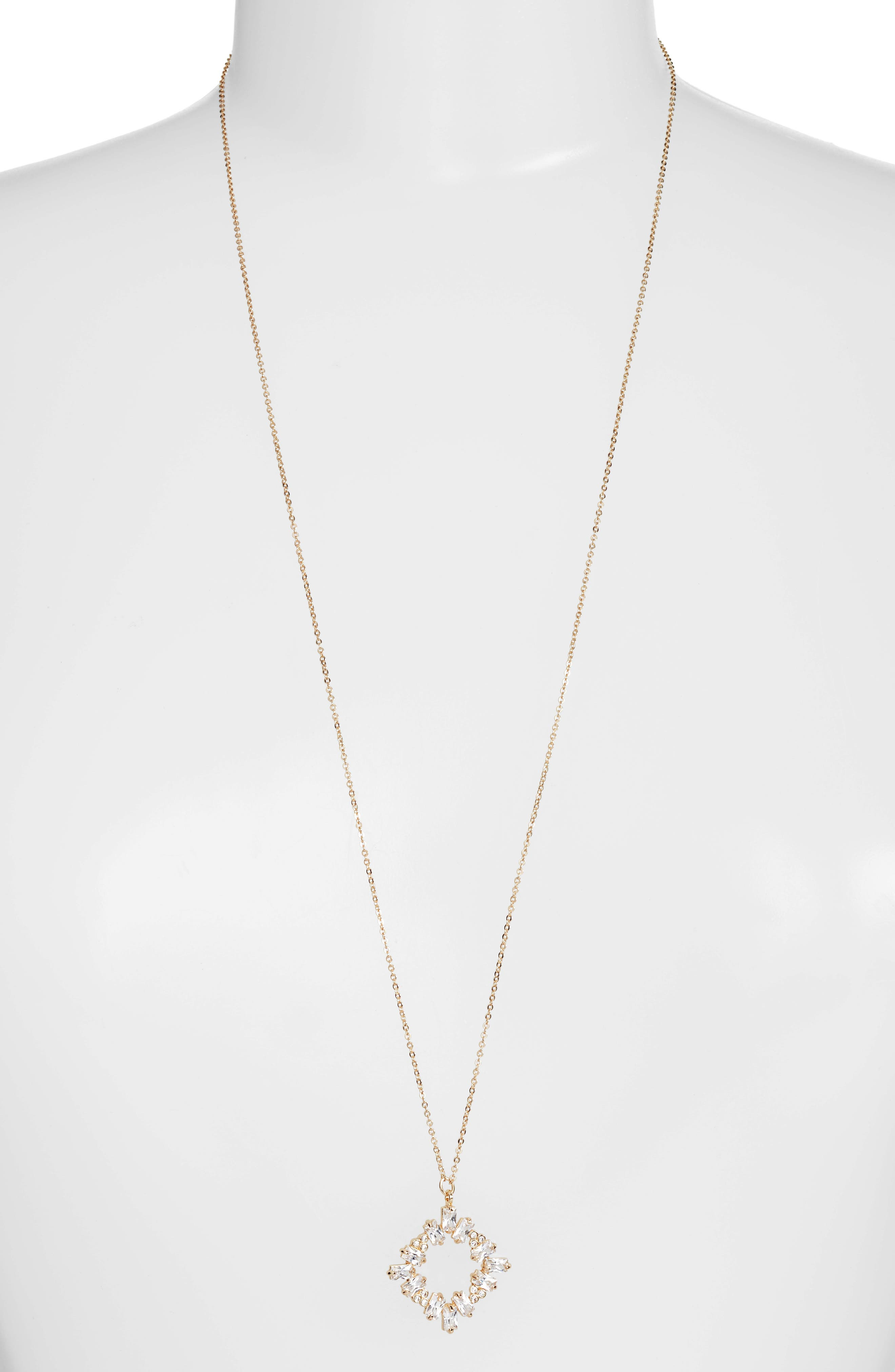 Main Image - CZ by Kenneth Jay Lane Pendant Necklace