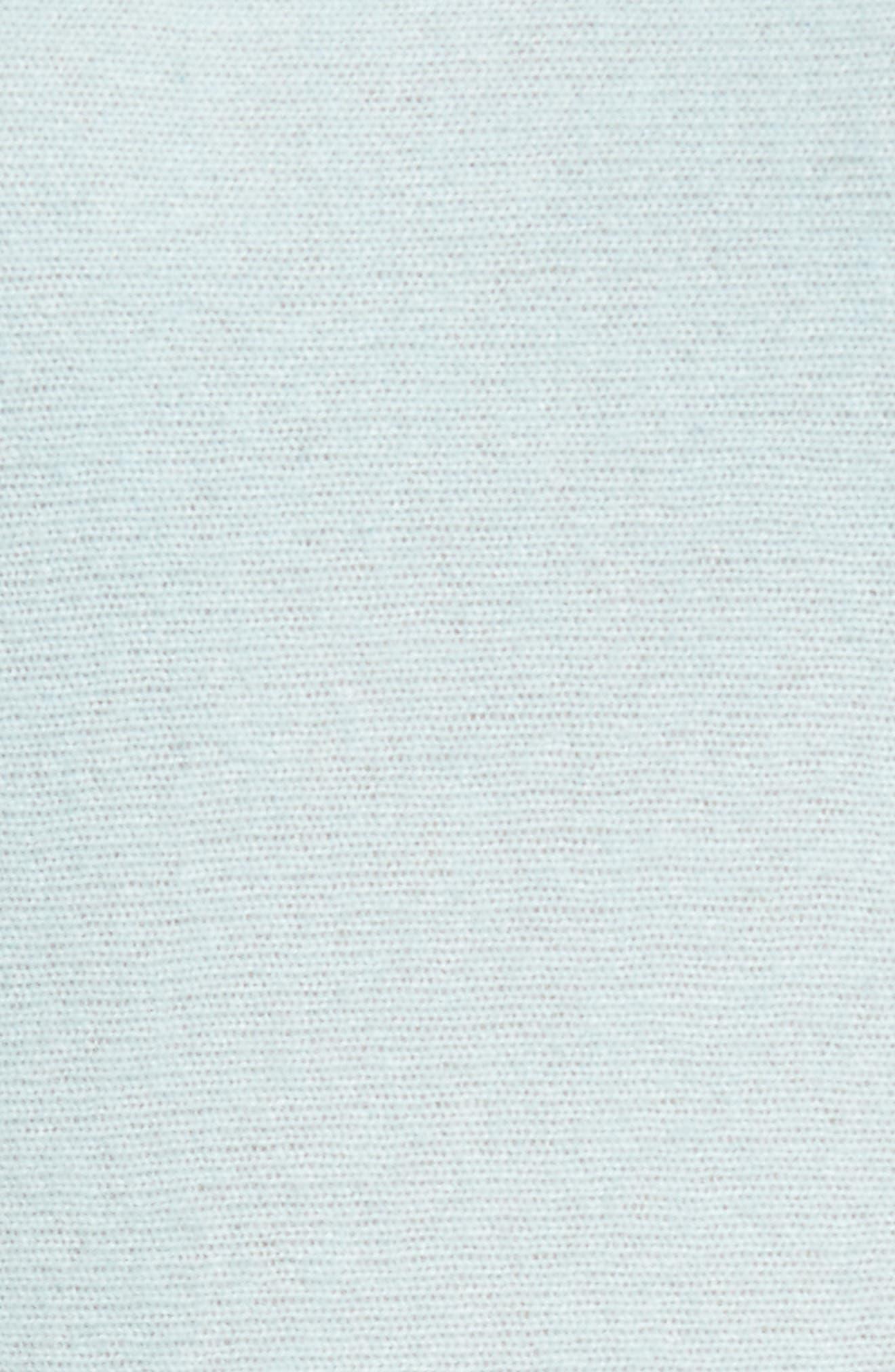 Alternate Image 5  - Halogen® High/Low Wool & Cashmere Tunic Sweater (Regular & Petite)