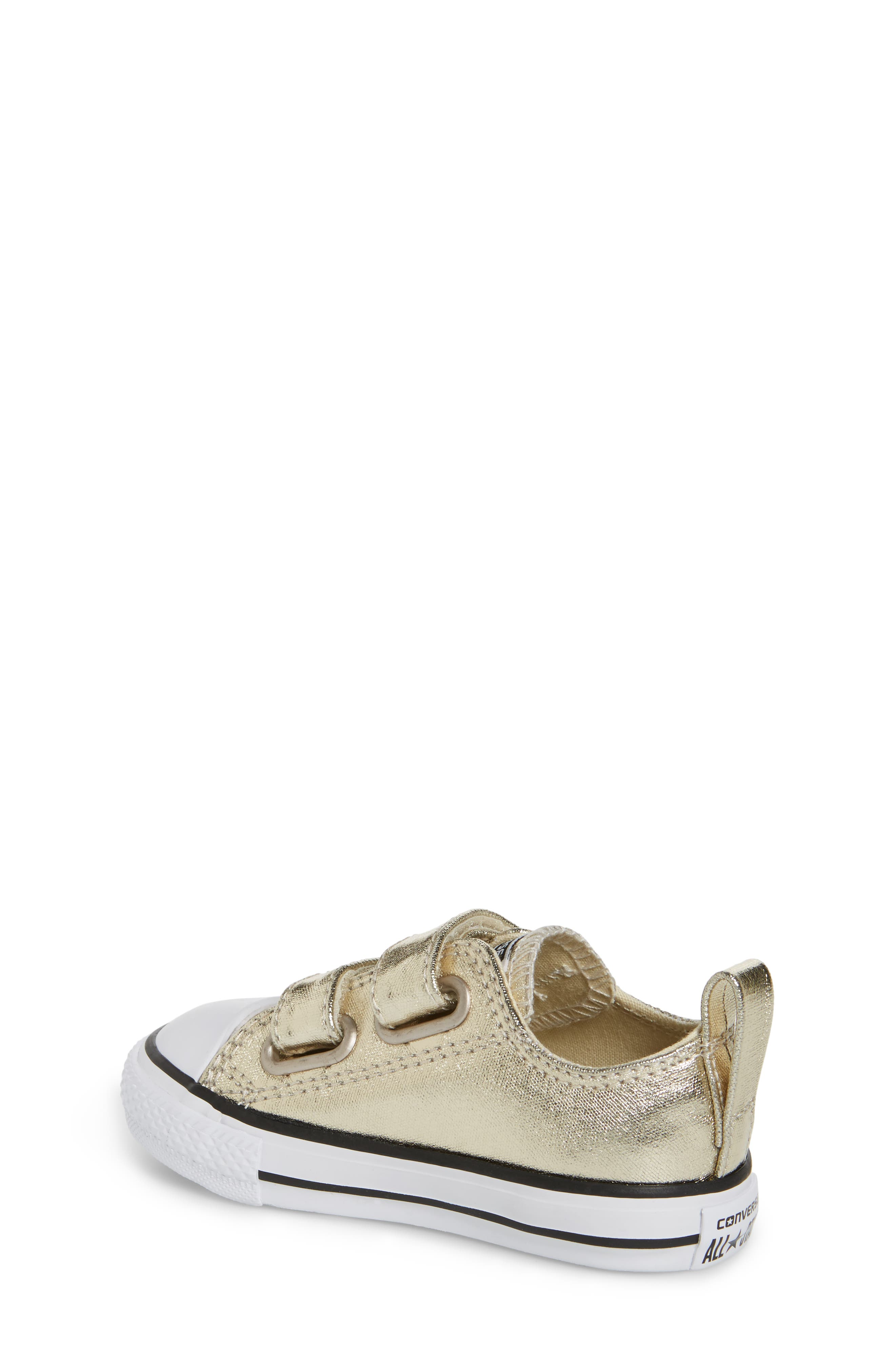 Alternate Image 2  - Converse Chuck Taylor® All Star® 2V Metallic Low-Top Sneaker (Baby, Walker & Toddler)