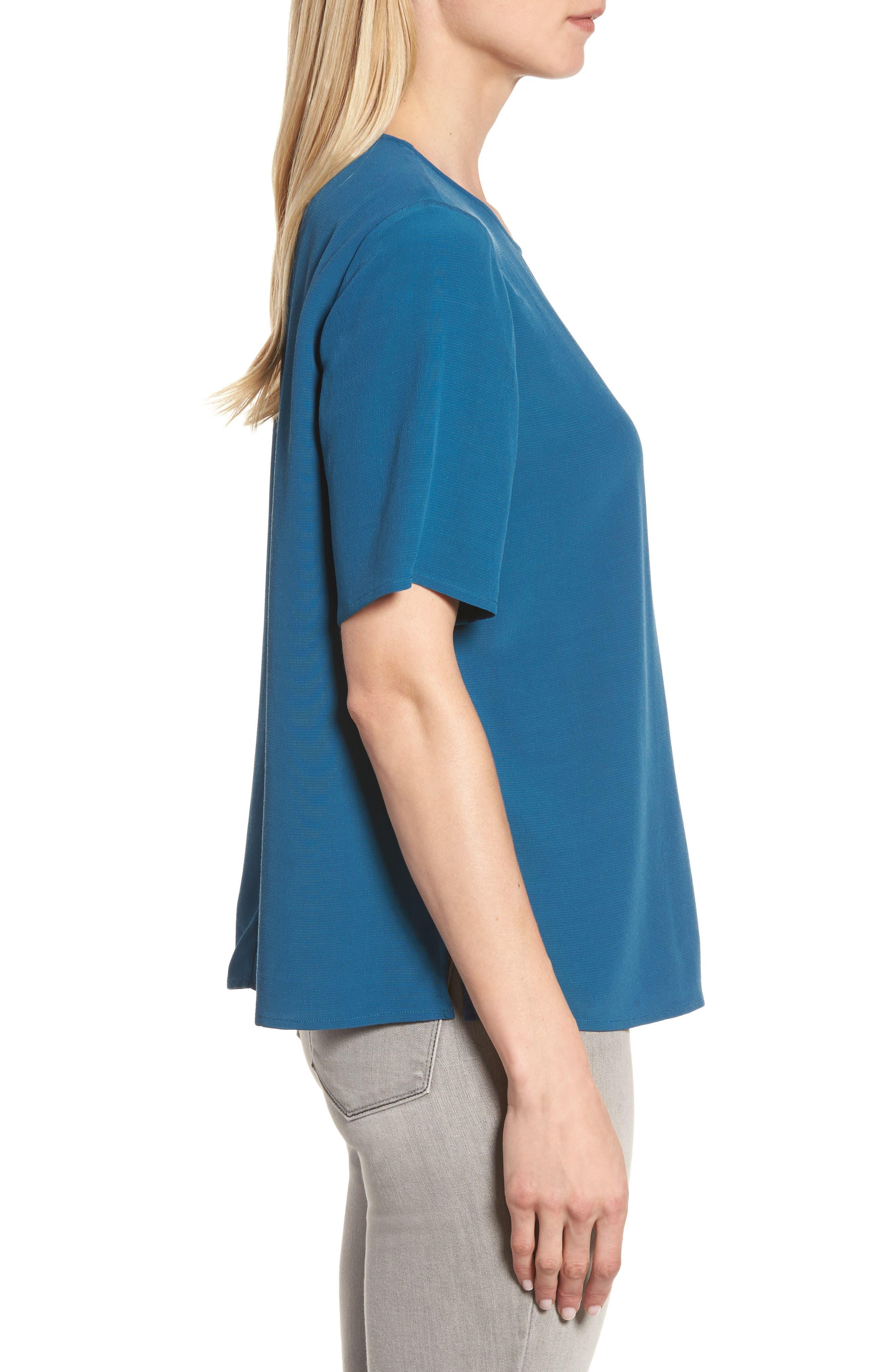 Alternate Image 3  - Eileen Fisher Tencel® Blend Top